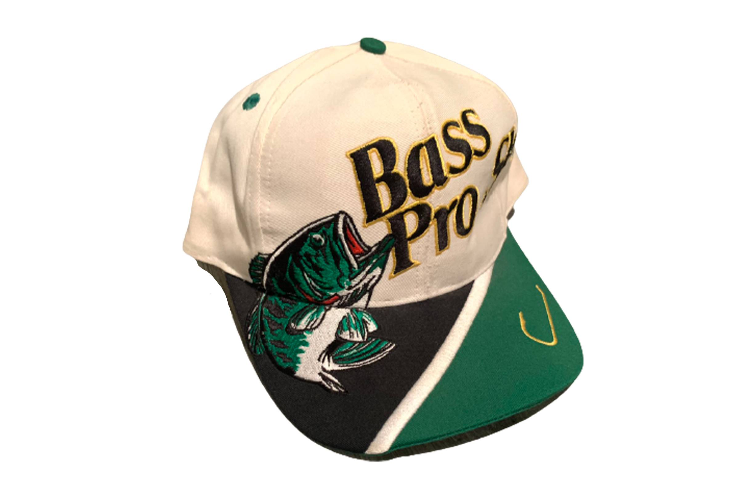 Vintage Bass Pro Shops Snapback Hat