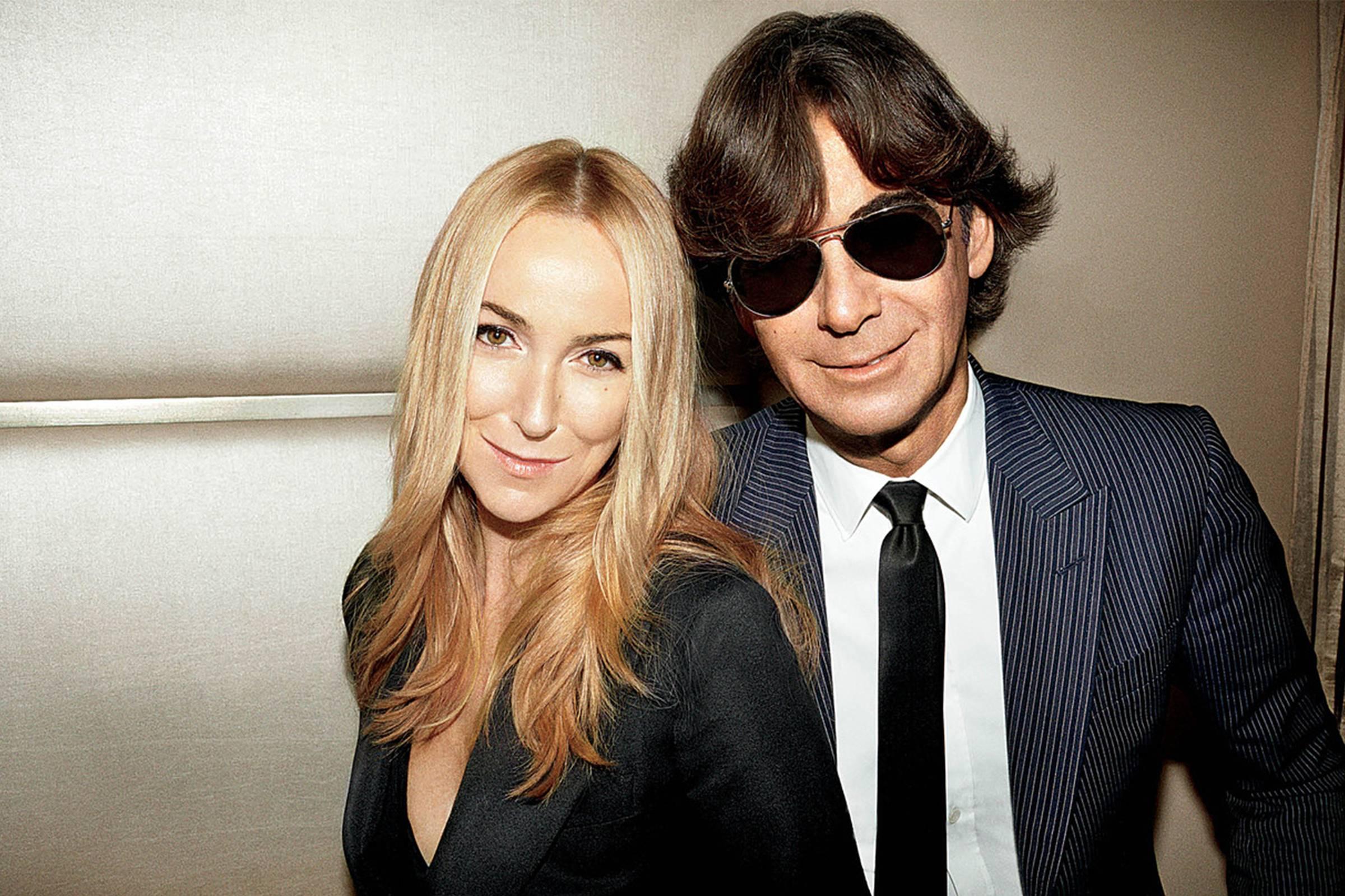 The power couple: Creative Director Frida Giannini and CEO Patrizio Di Marco