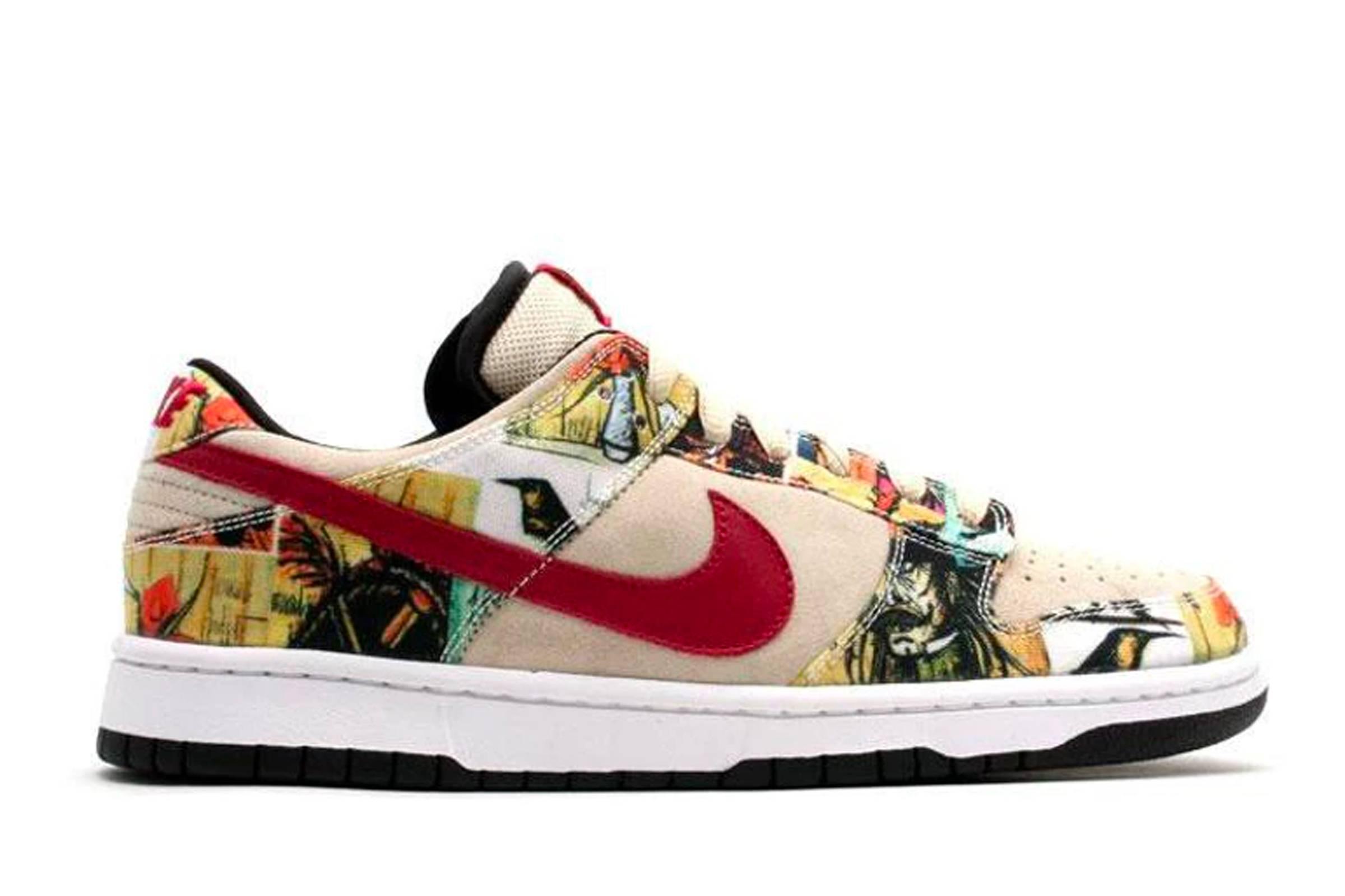 """2. Nike Dunk SB Low """"Paris"""""""