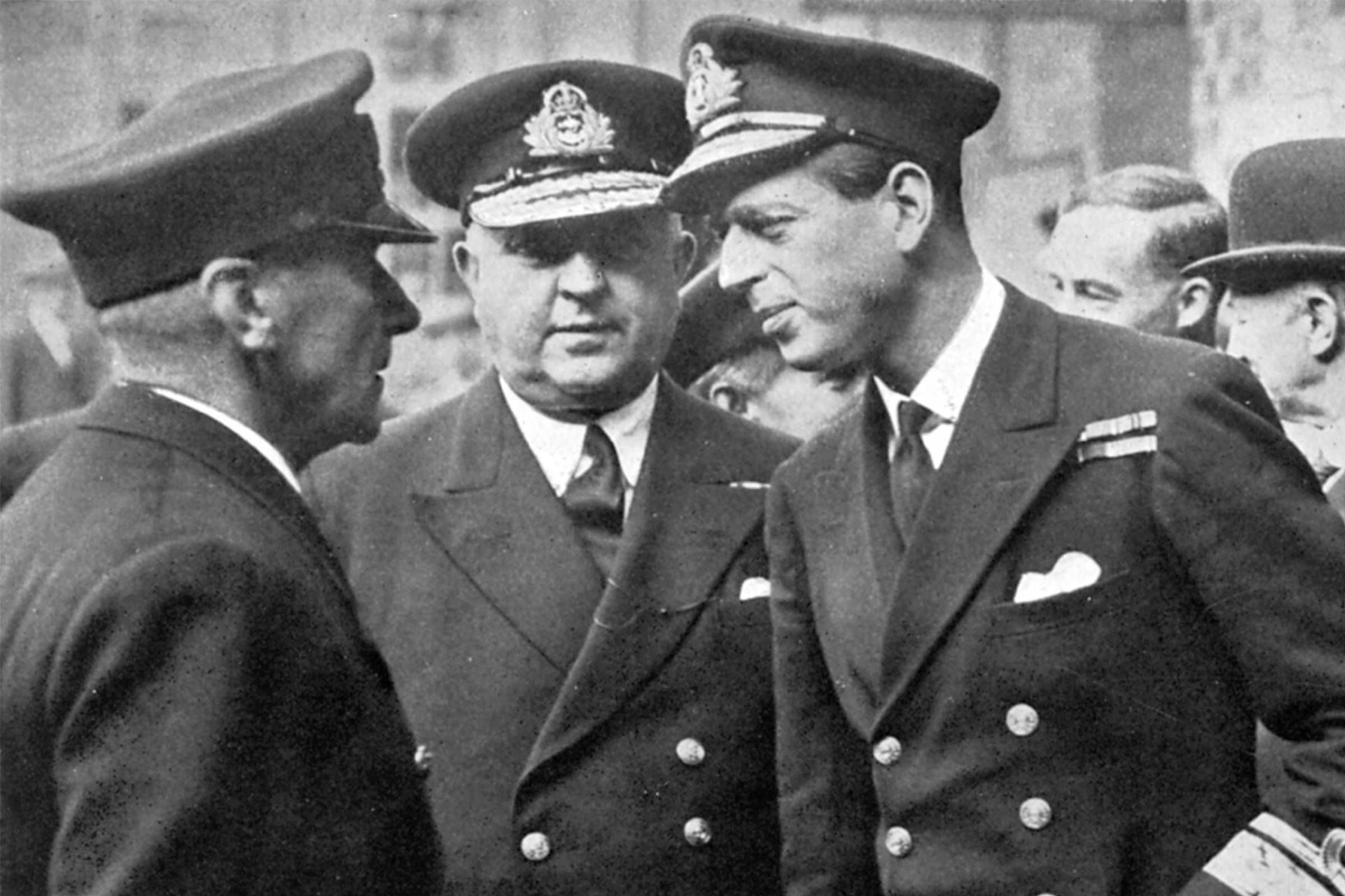 Petty Officers of the British Royal Navy, early 20th Century