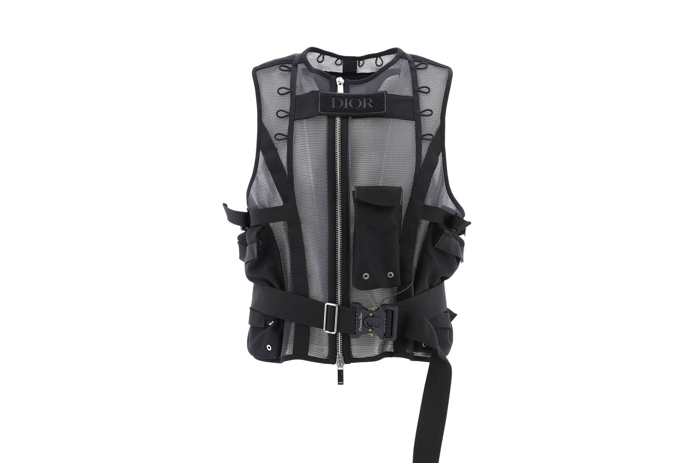 Dior Men Tactical Utility Vest