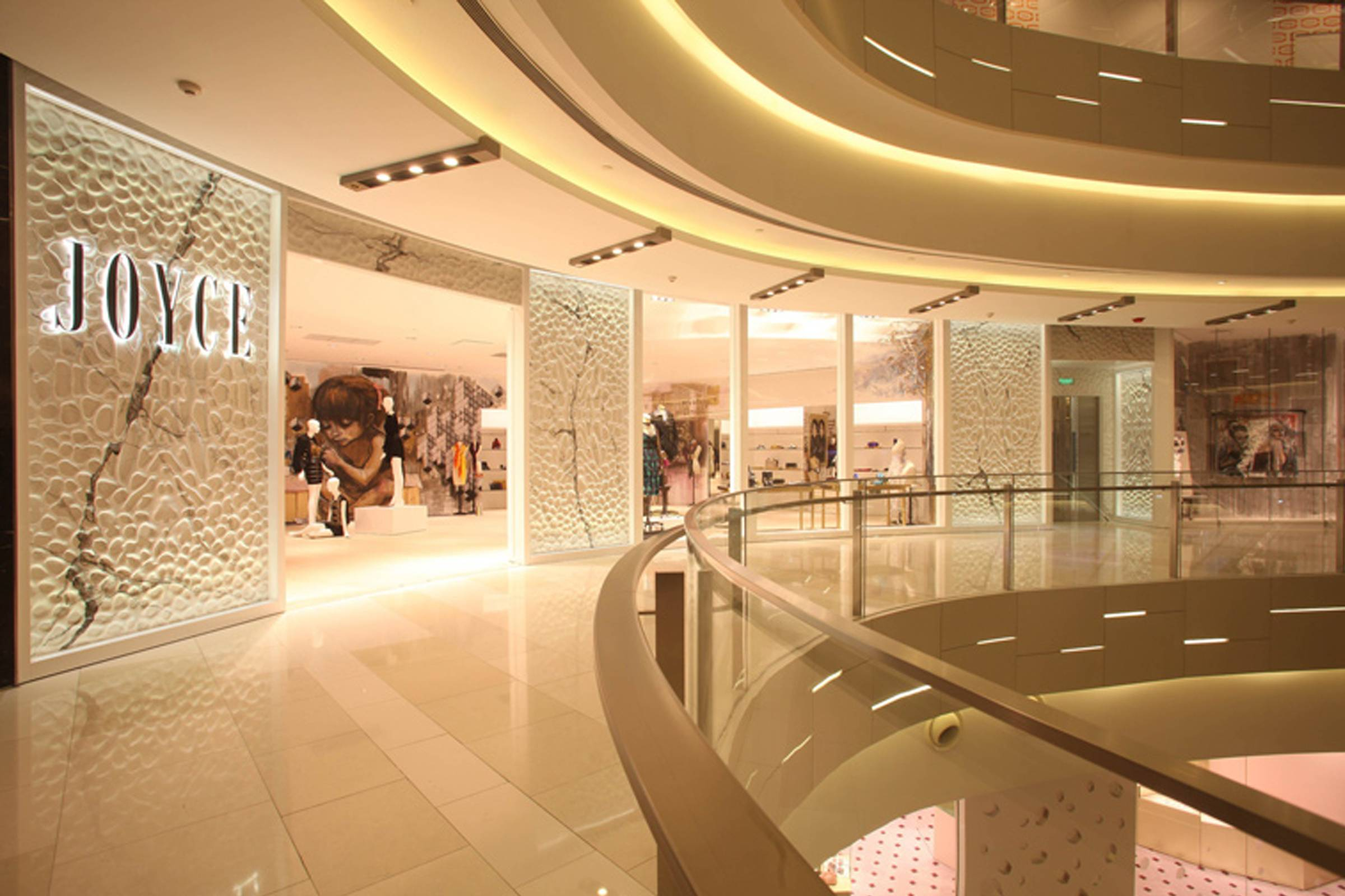 Joyce boutique at IAPM Mall in Shanghai