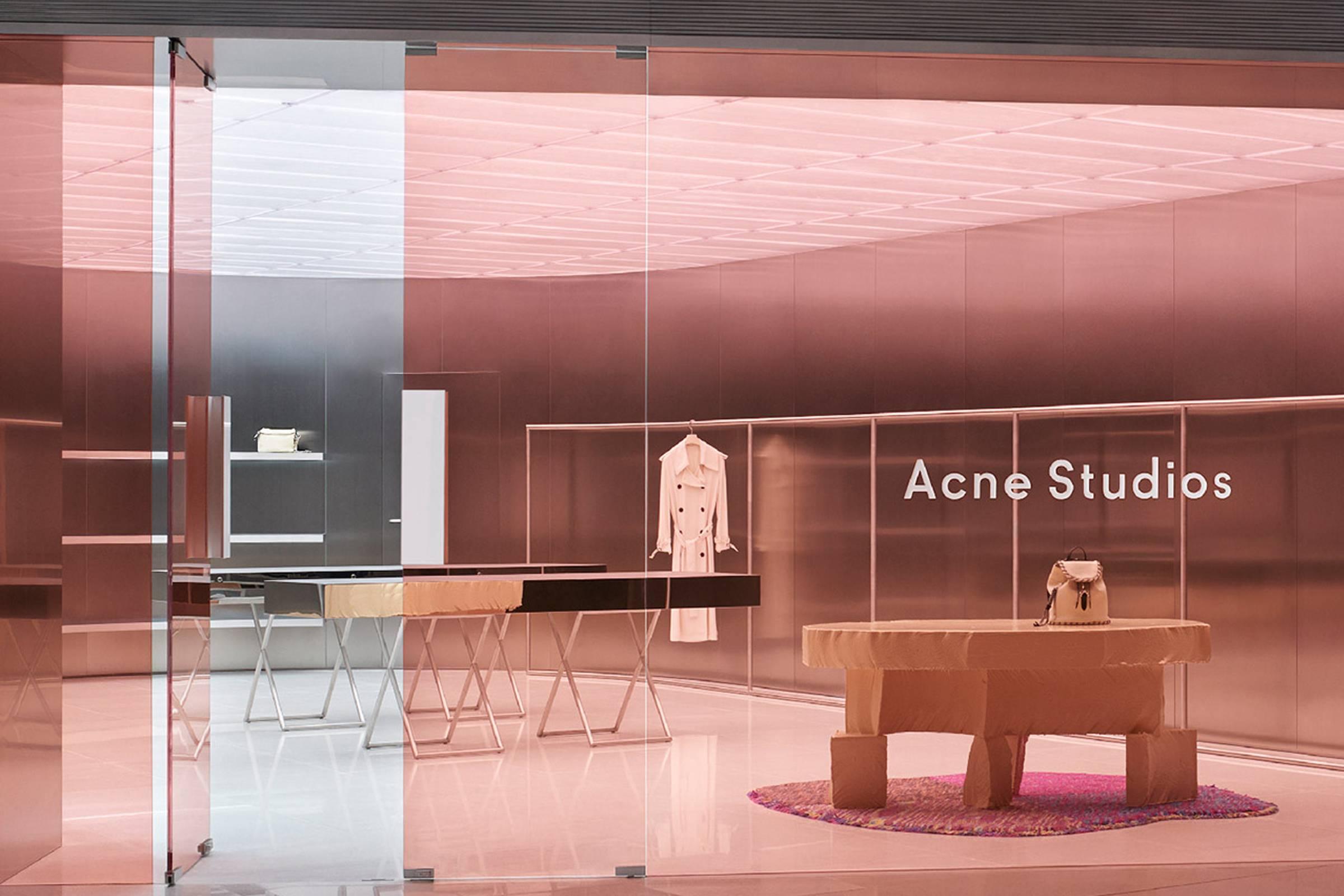 Acne Studios Hong Kong store