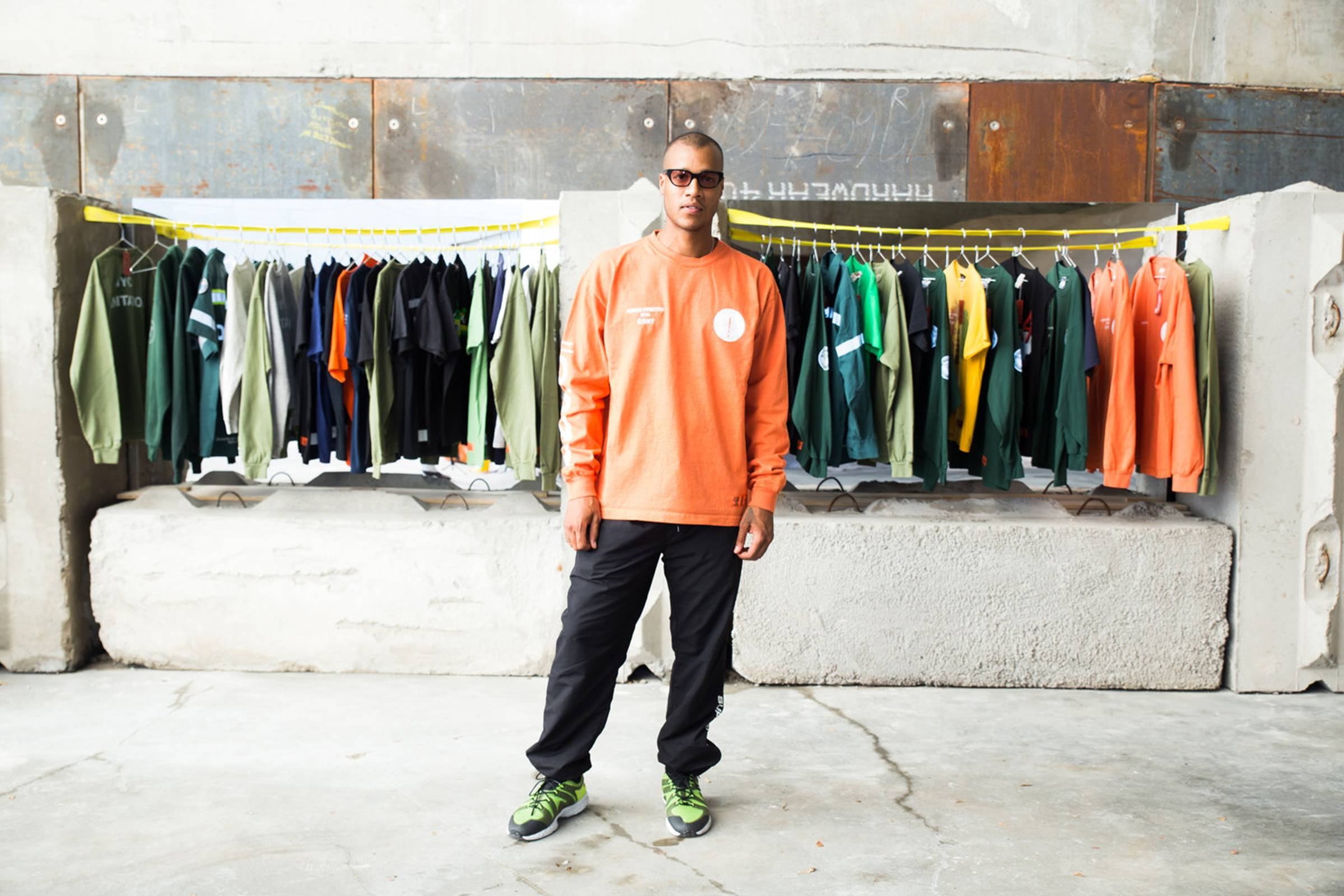 "Heron Preston presents ""Uniform,"" in collaboration with DSNY, 2016"