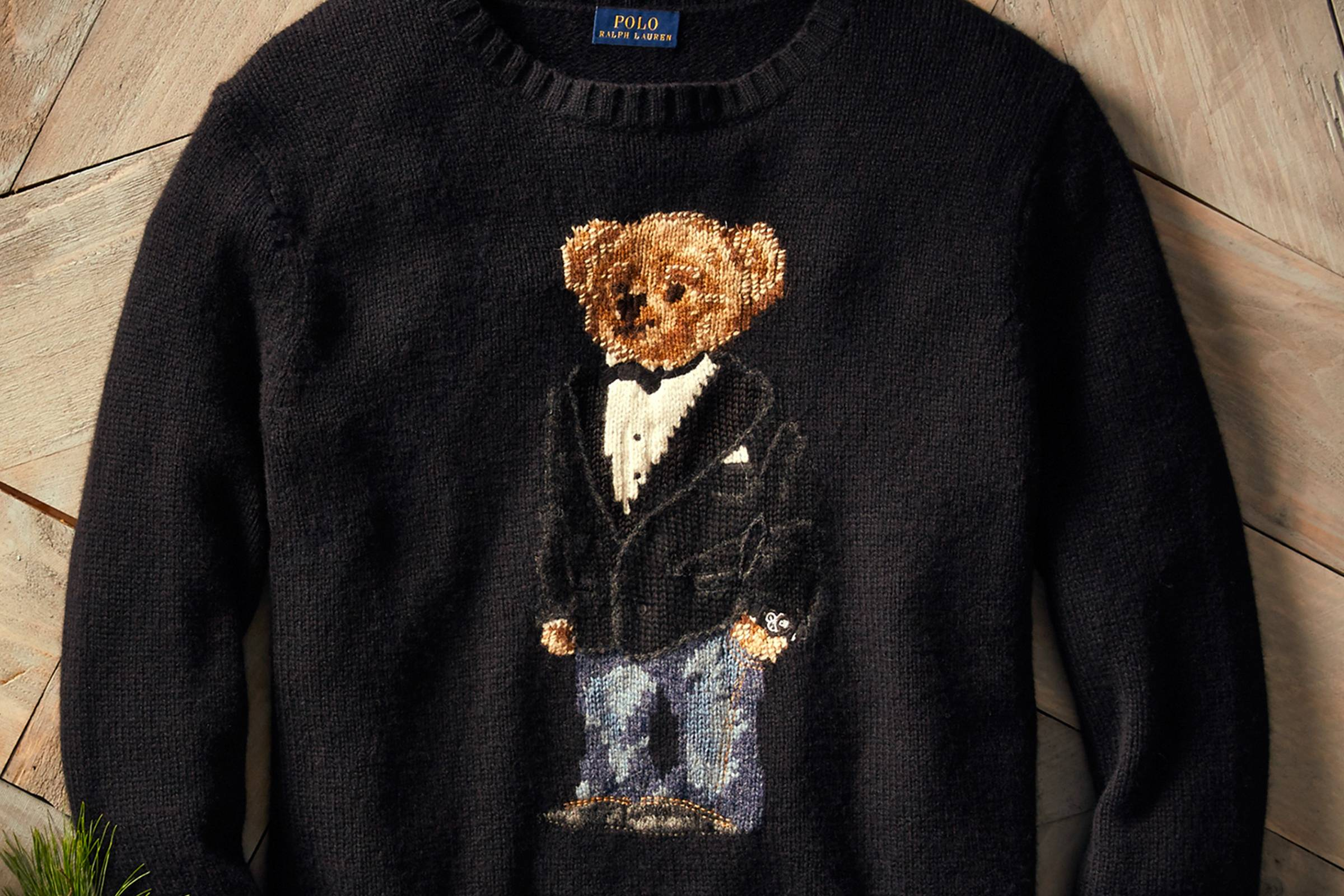 aaea11f8f An Abridged History of The Polo Bear - Ralph Lauren Polo Bear ...