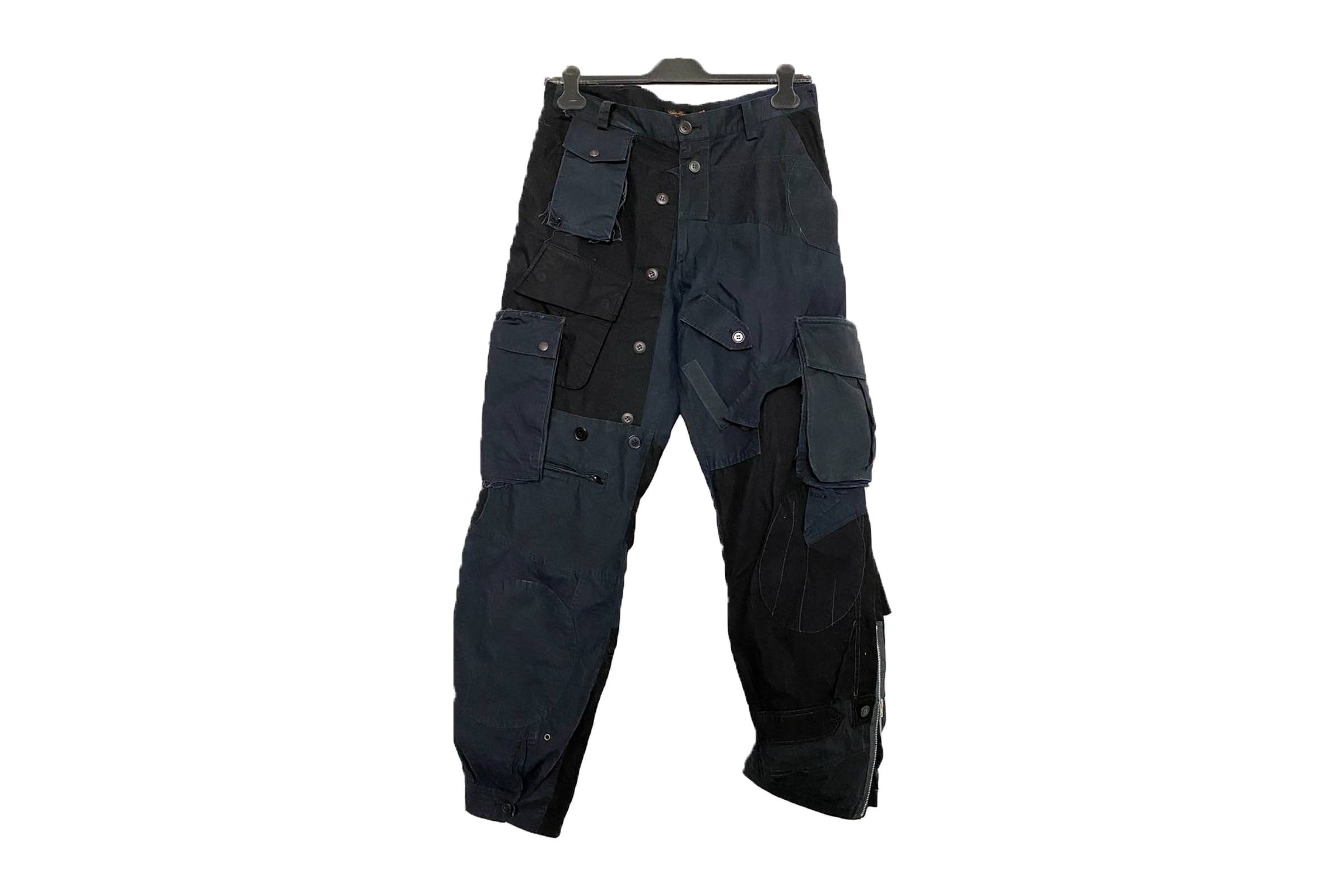 """Undercover Fall/Winter 2004 """"But Beautiful"""" Reconstructed Cargo Pants"""
