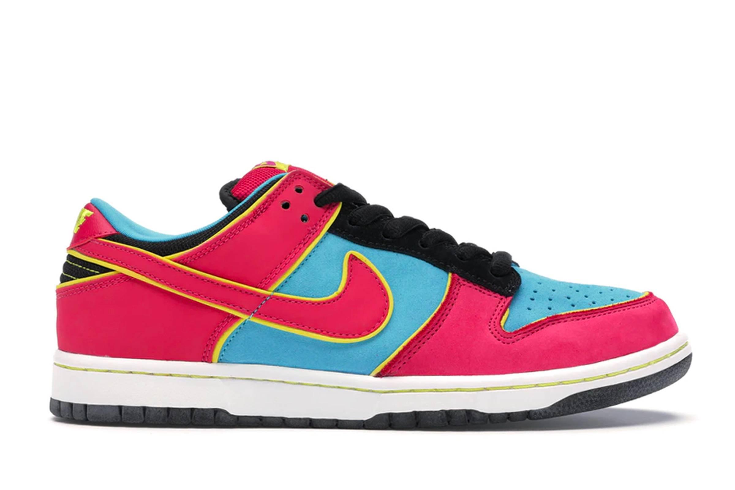 "Nike SB Dunk Low ""Ms. Pacman"""
