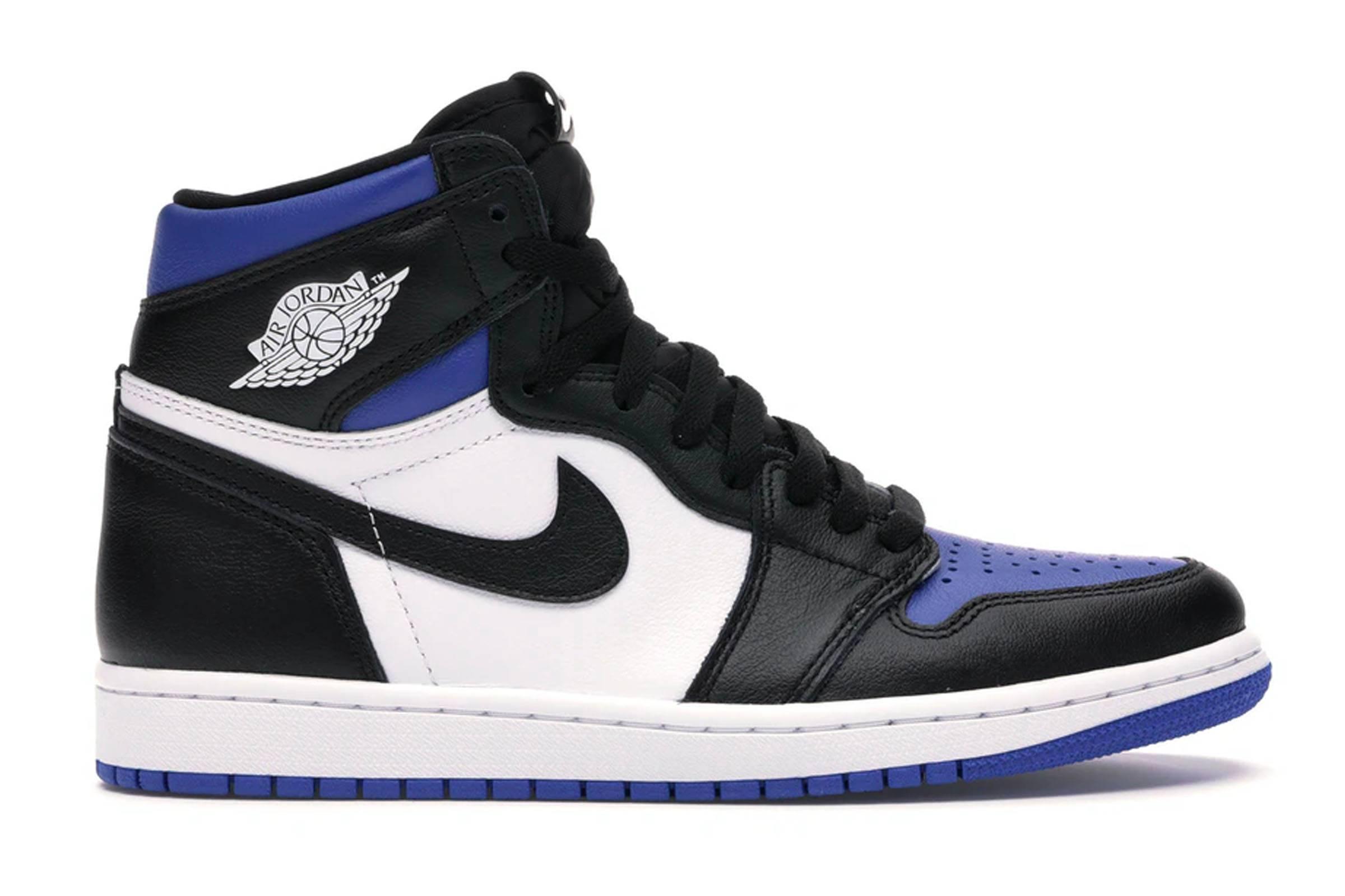 """4. Jordan I """"Royal Toe"""""""