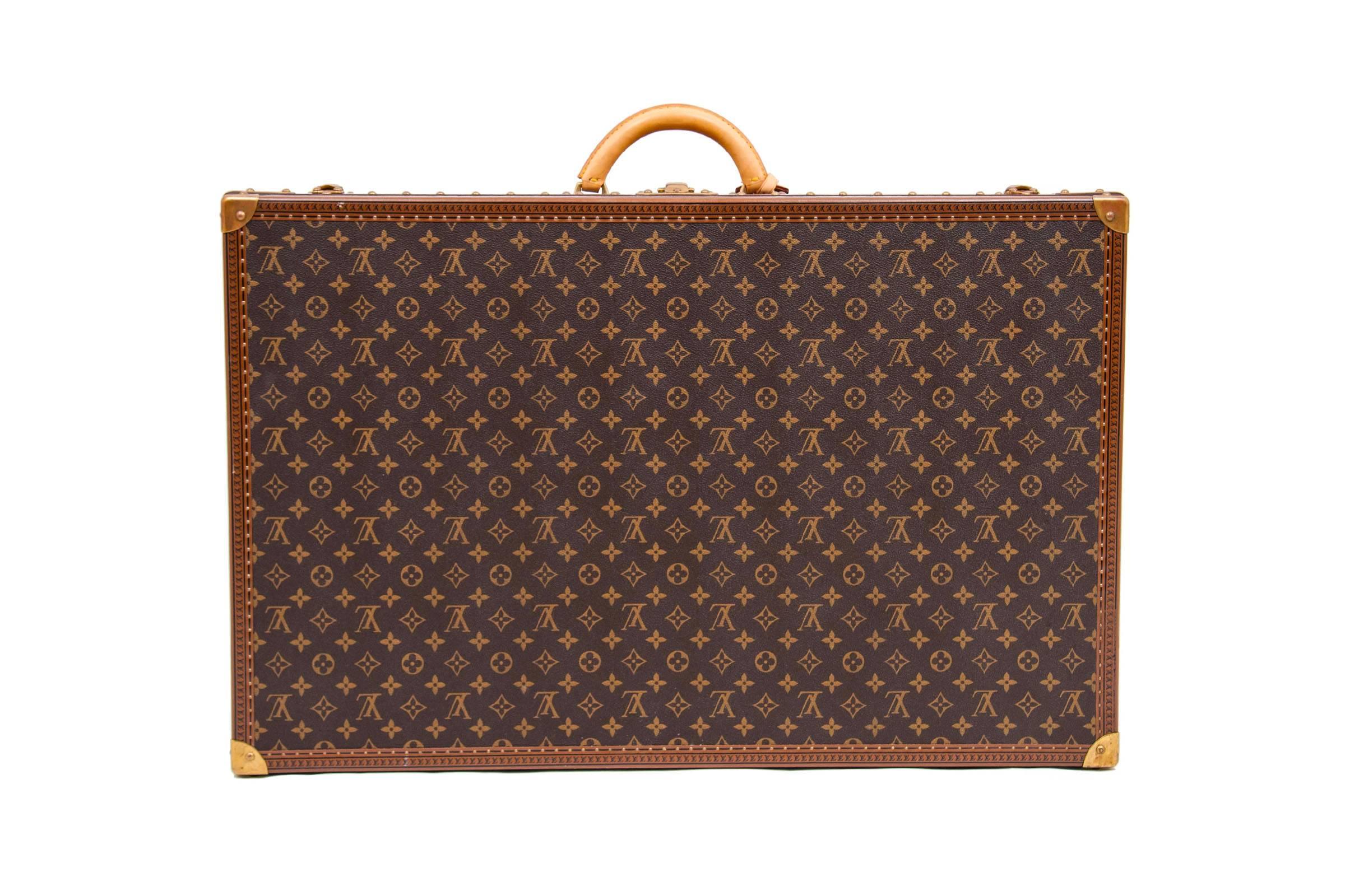 Louis Vuitton Alzer 80 Monogram Suitcase