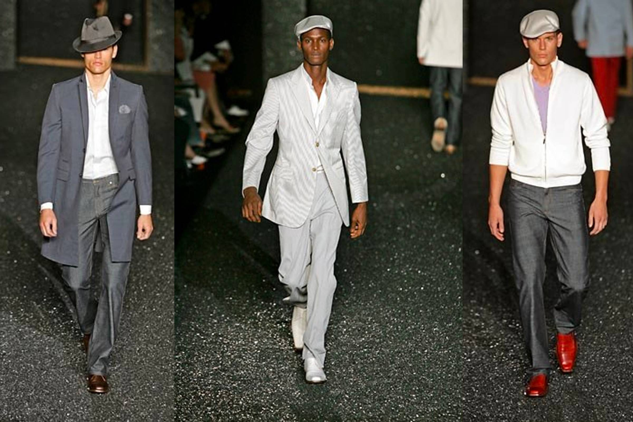 Looks from Givenchy Spring/Summer 2005 menswear