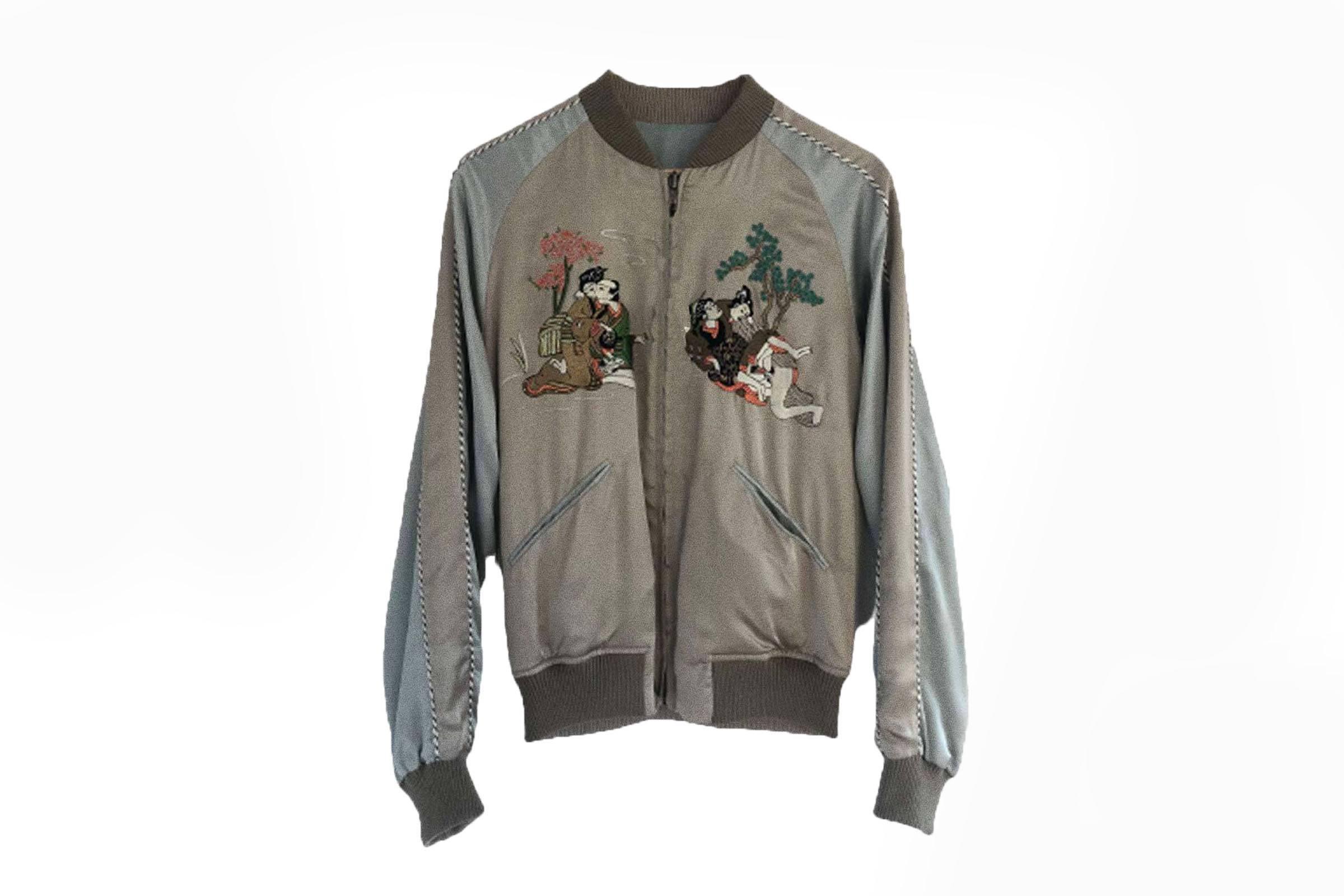 Gucci Spring/Summer 2003 Shunga Kama Sutra Souvenir Jacket