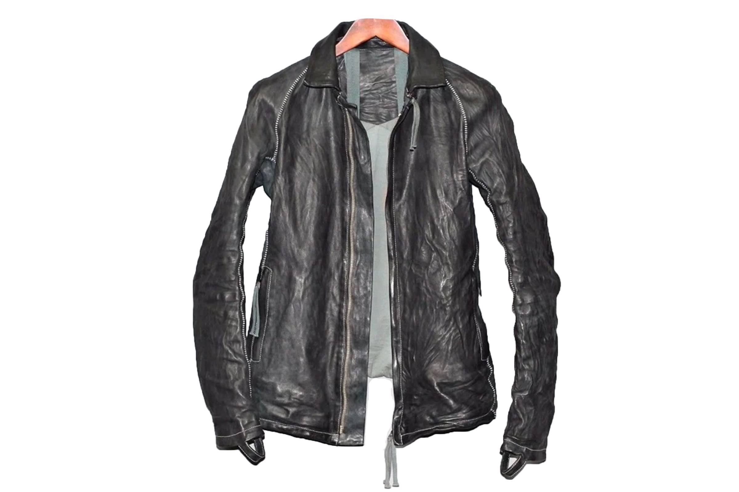 Boris Bidjan Saberi J2 Horse Leather Jacket
