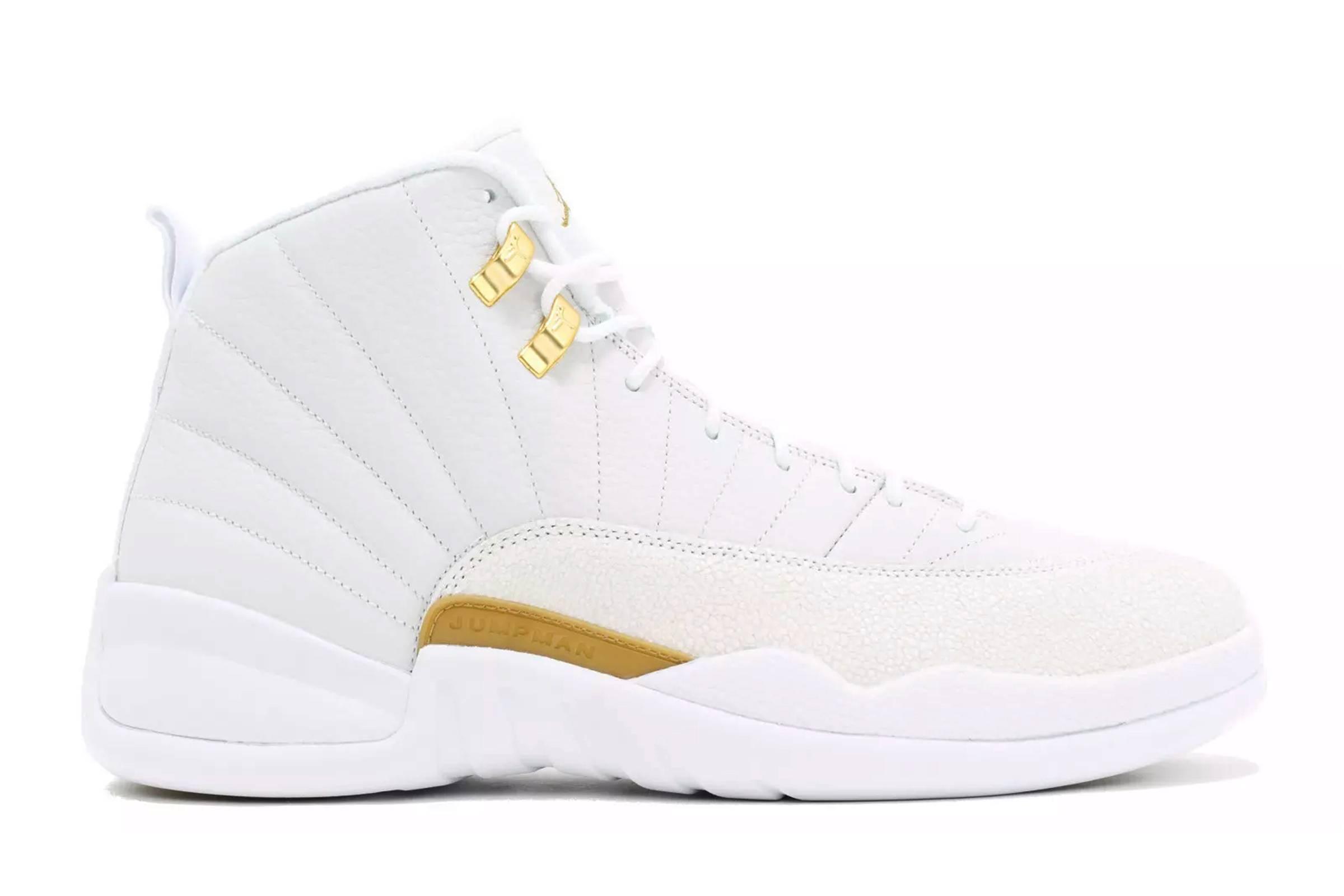 """OVO x Jordan XII """"White"""""""