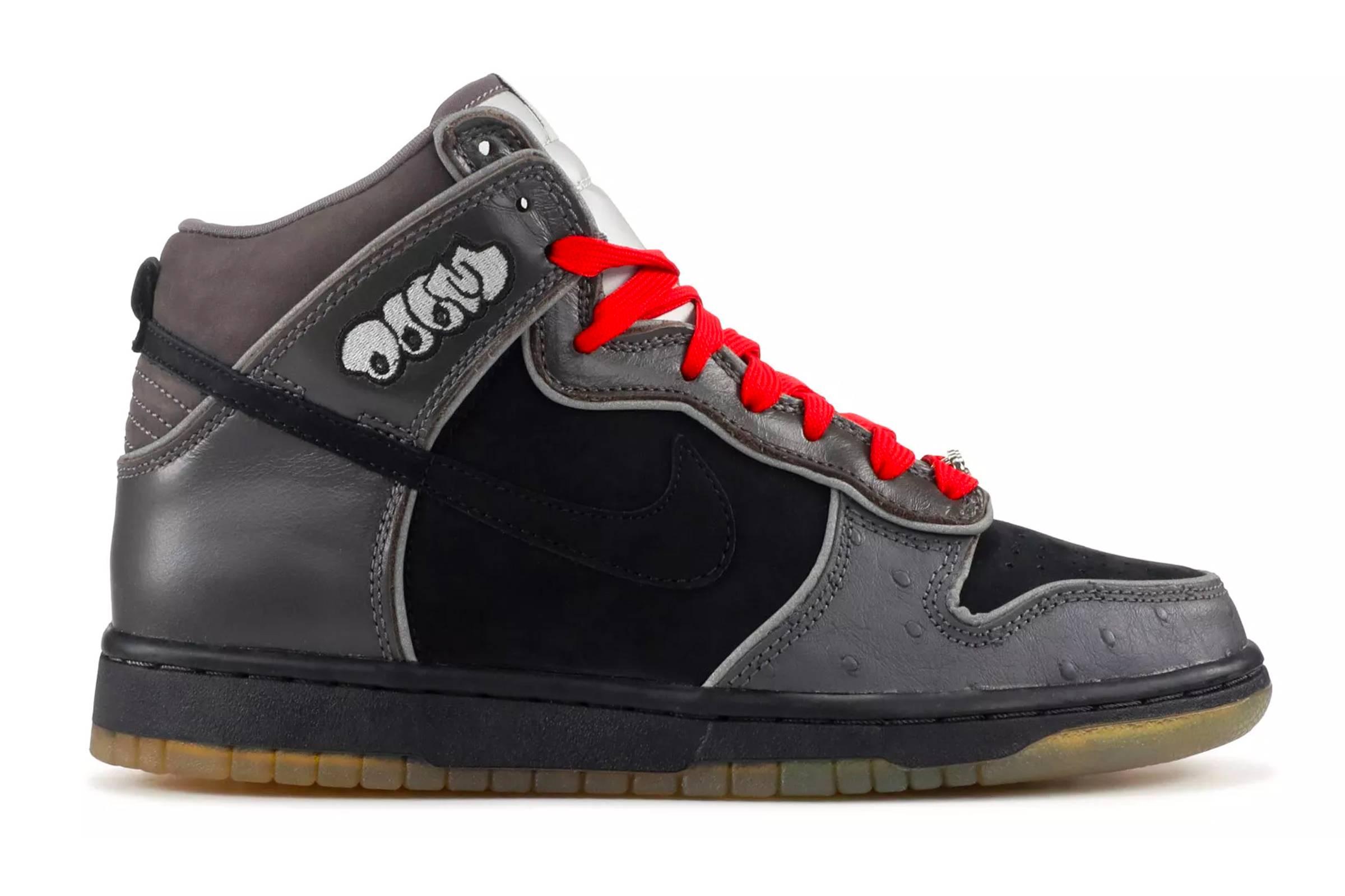 "Nike SB Dunk High ""MF Doom"""
