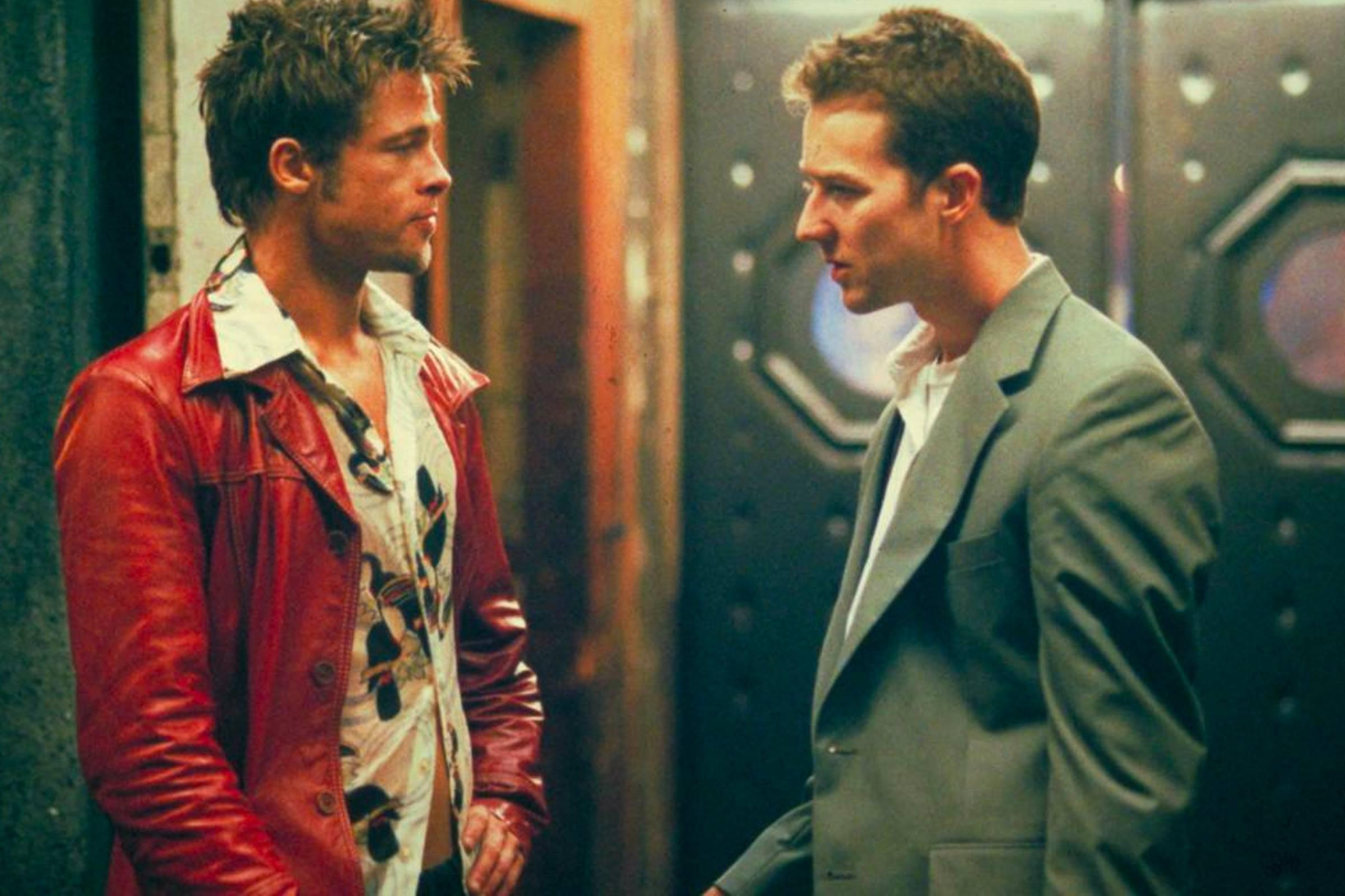 """Tyler Durden, (""""Fight Club"""", 1999)"""