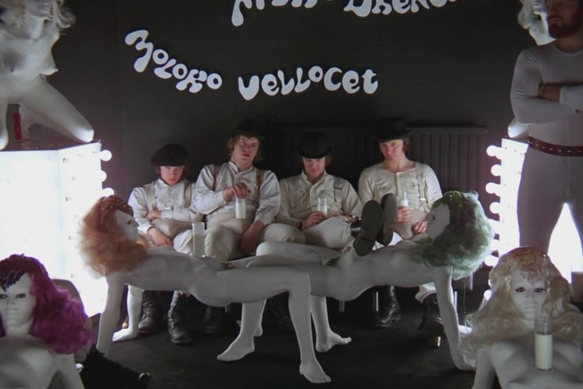 The Droogs at the Moloko Milk Bar