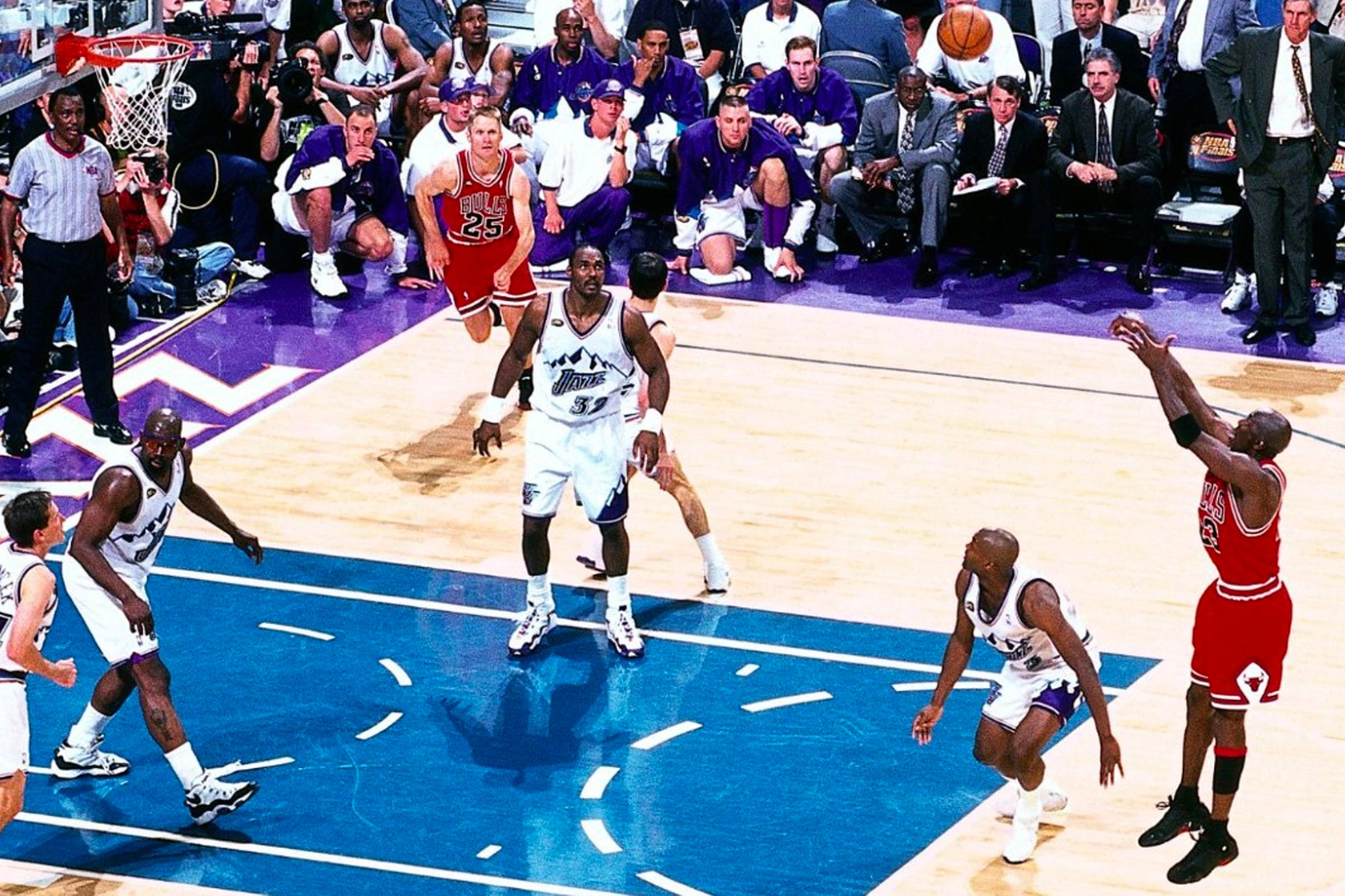 1998 NBA Finals, Game 6