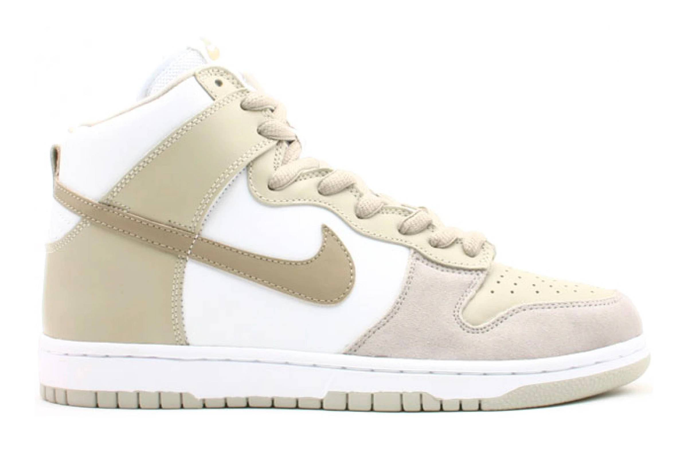 "Nike SB Dunk High ""White Khaki"""