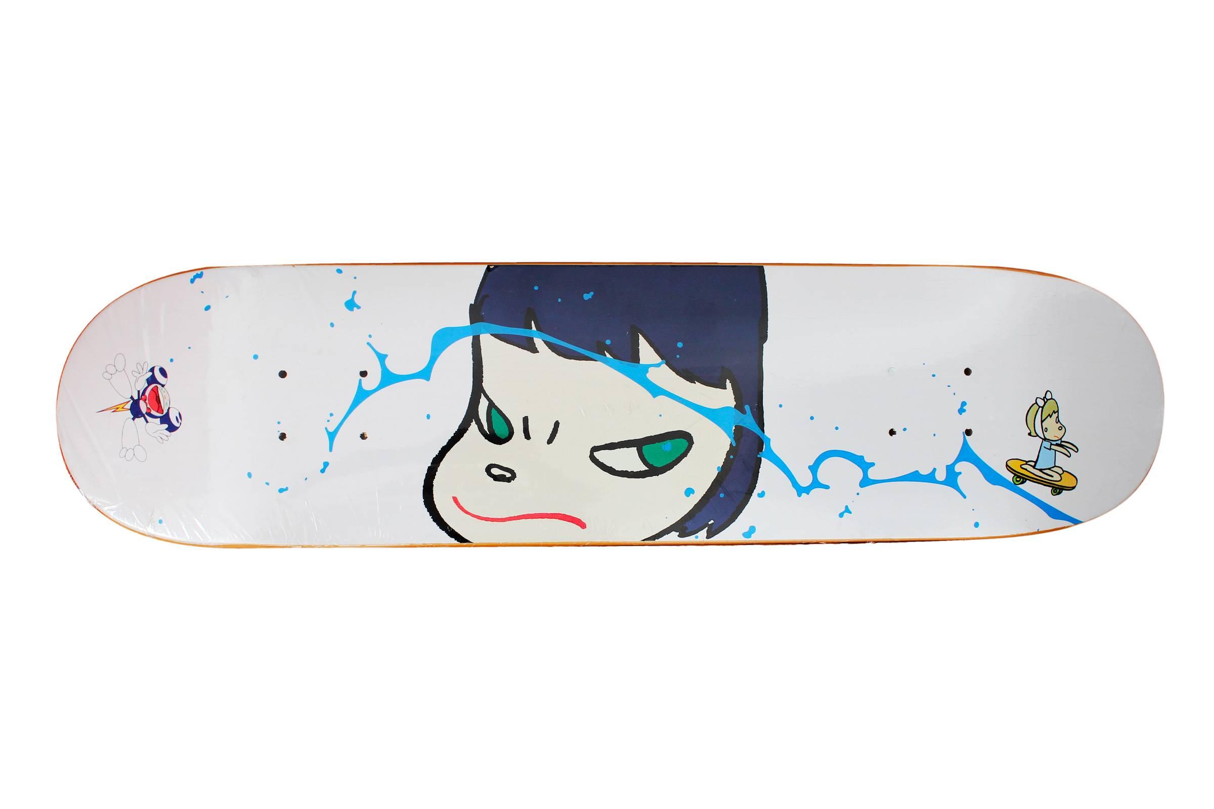 Nara x Takashi Murakami Skateboard