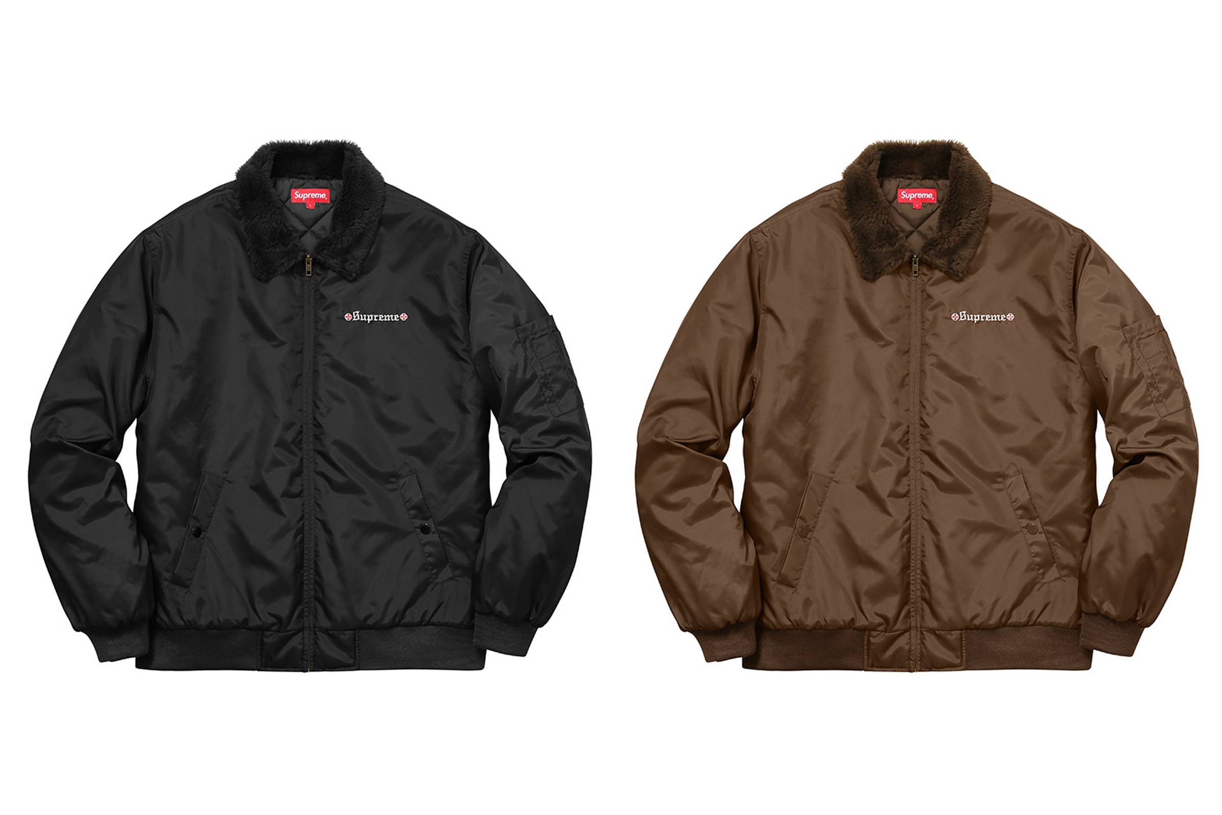 Supreme x Independent Quilted Bomber Jacket
