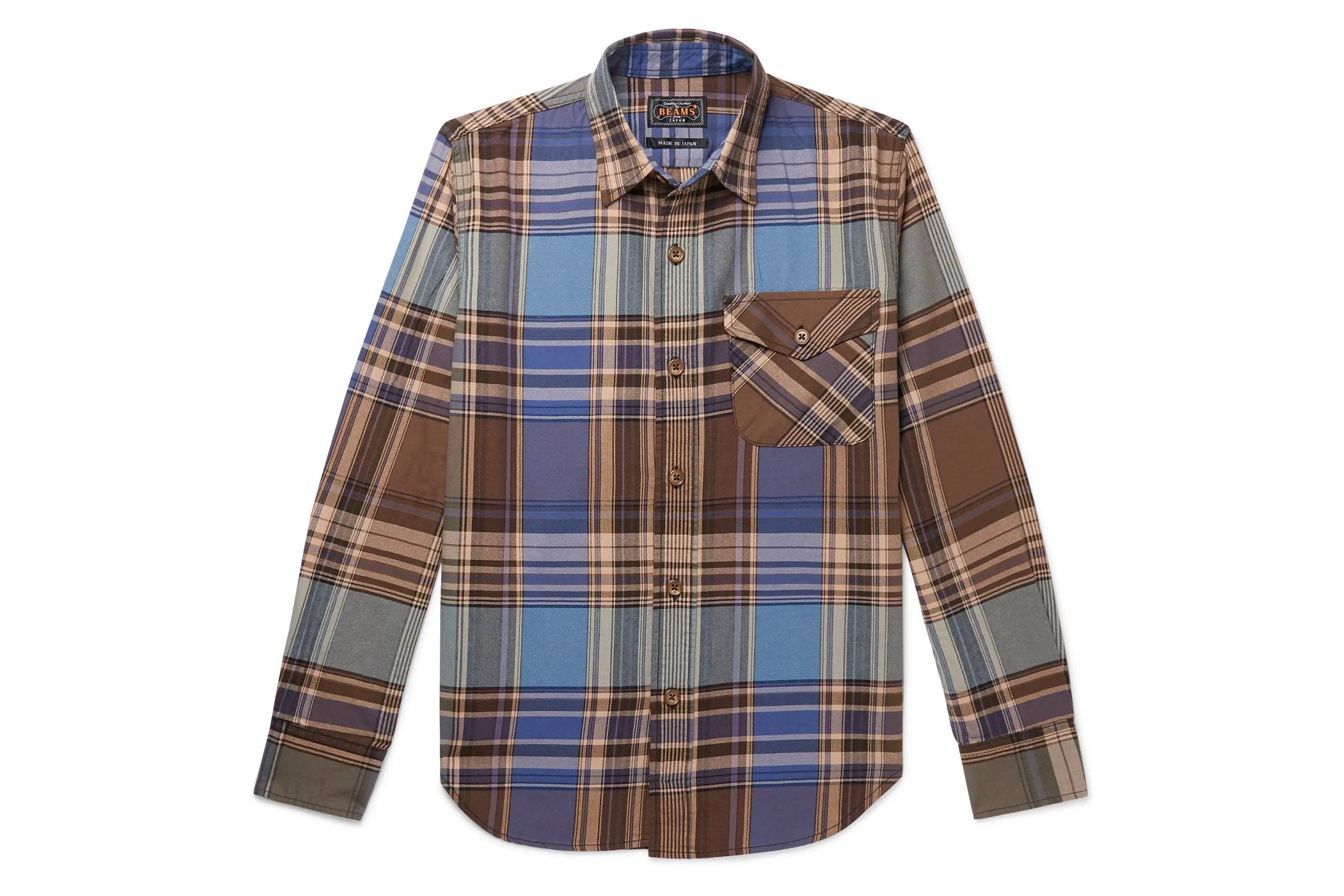 12. Beams Plus Flannel Shirt