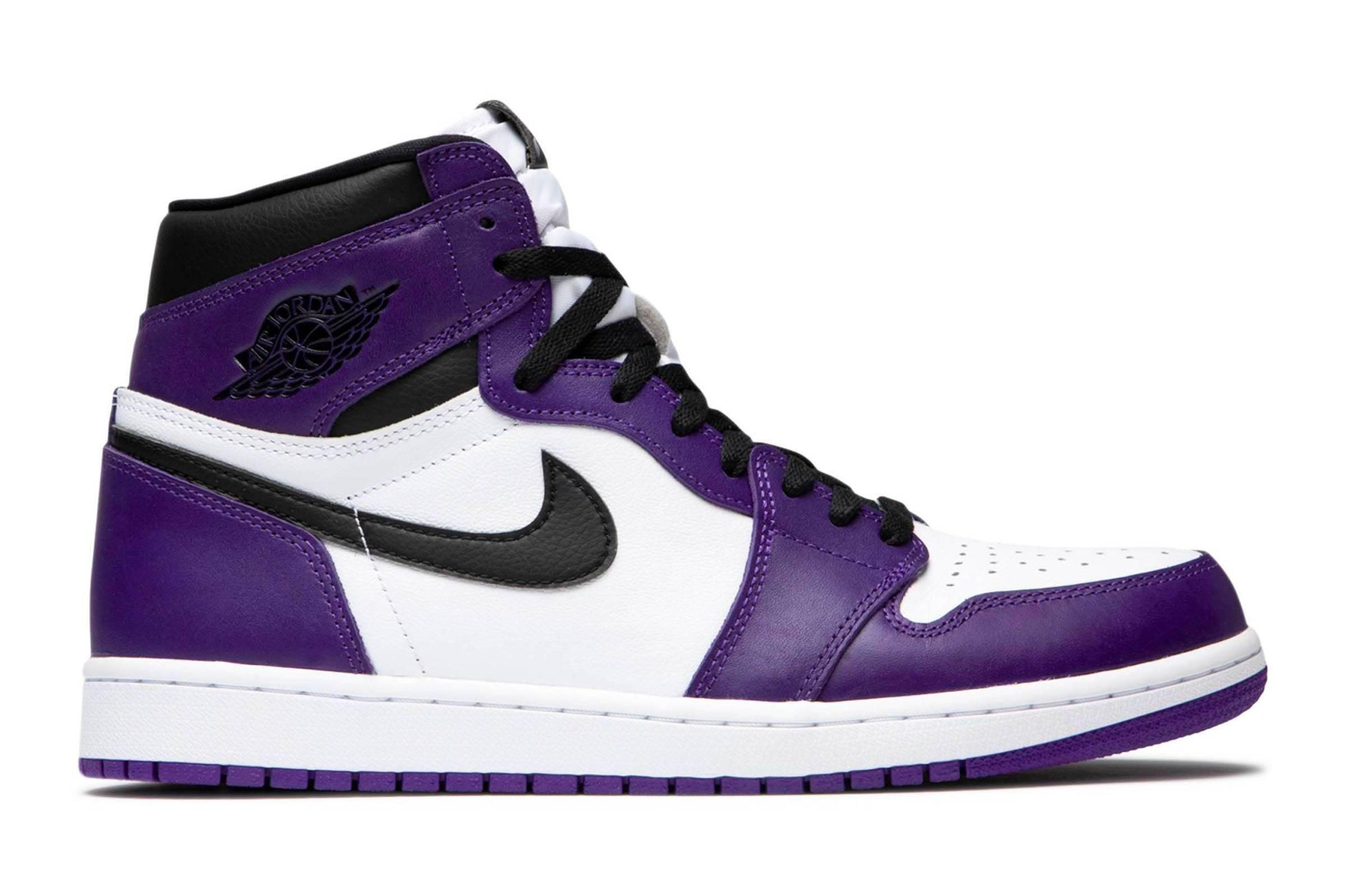 """Jordan I """"Court Purple"""""""