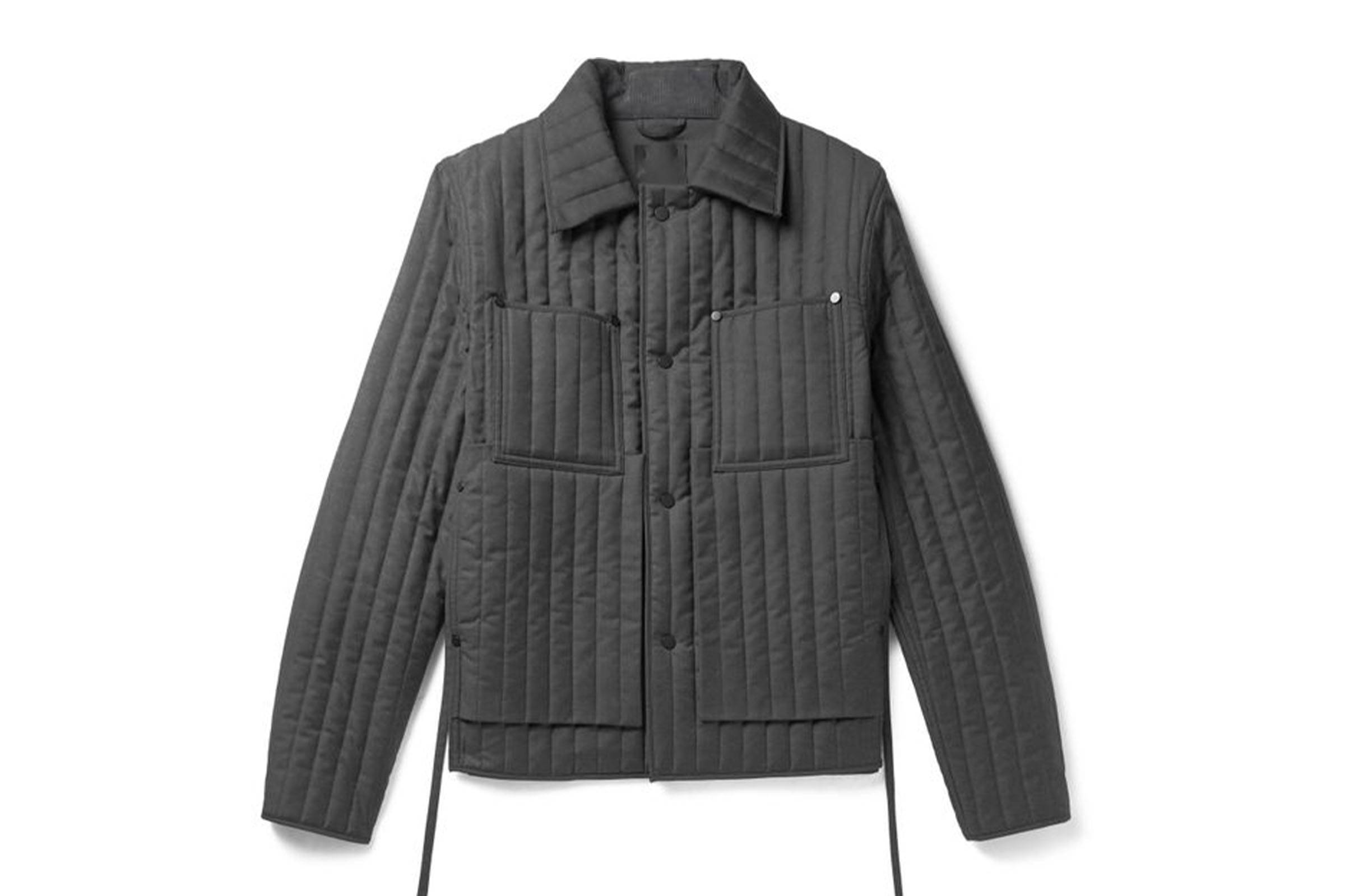 Craig Green Quilted Wool Work Jacket