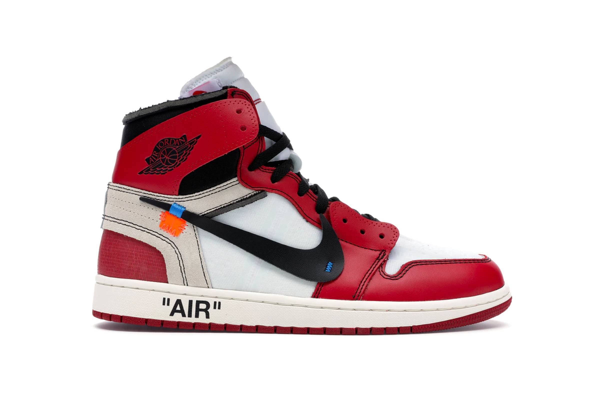 "Off-White x Nike Air Jordan 1 ""Chicago"""