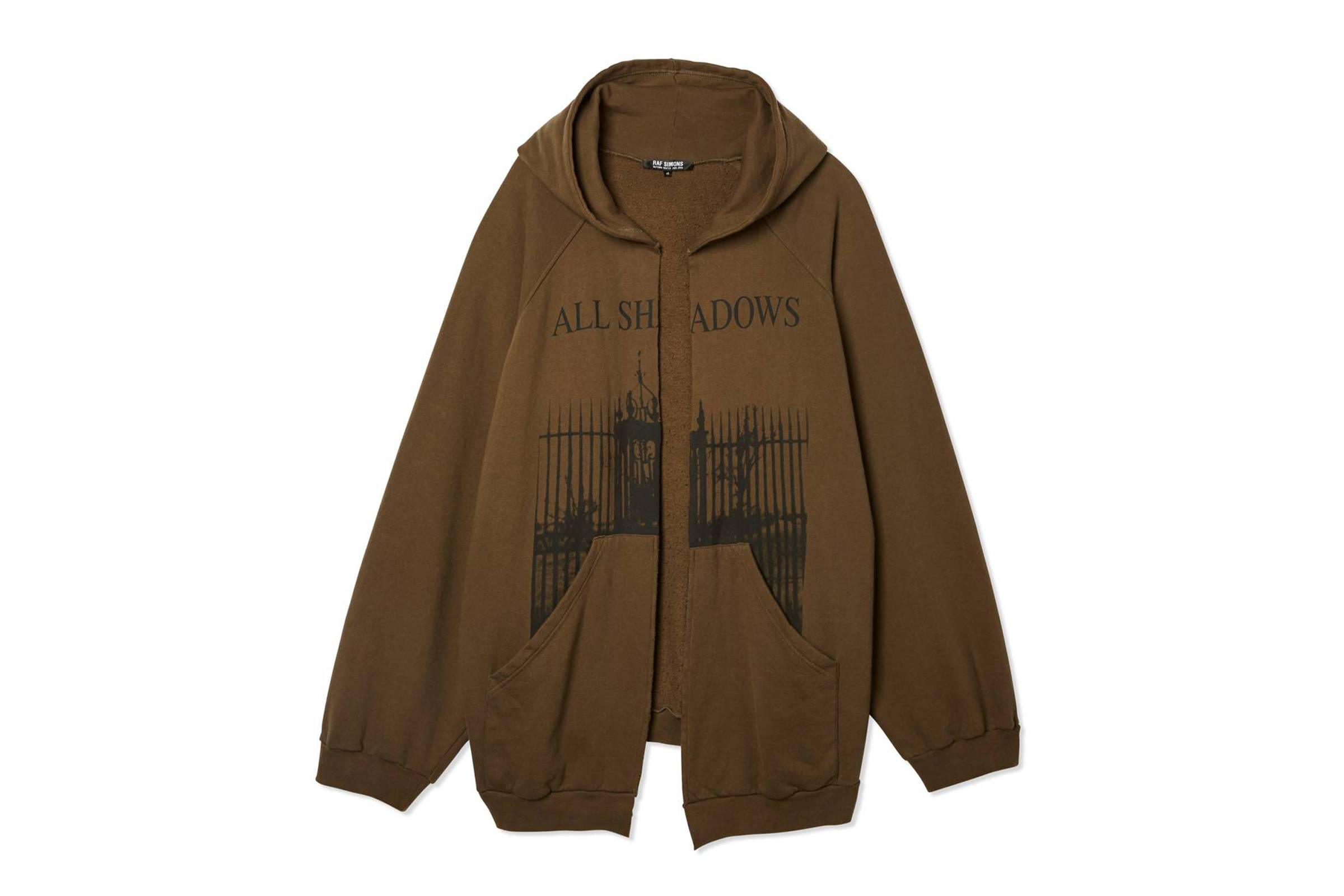 "Raf Simons Fall/Winter 2005 ""History of My World"" All Shadows Hoodie"