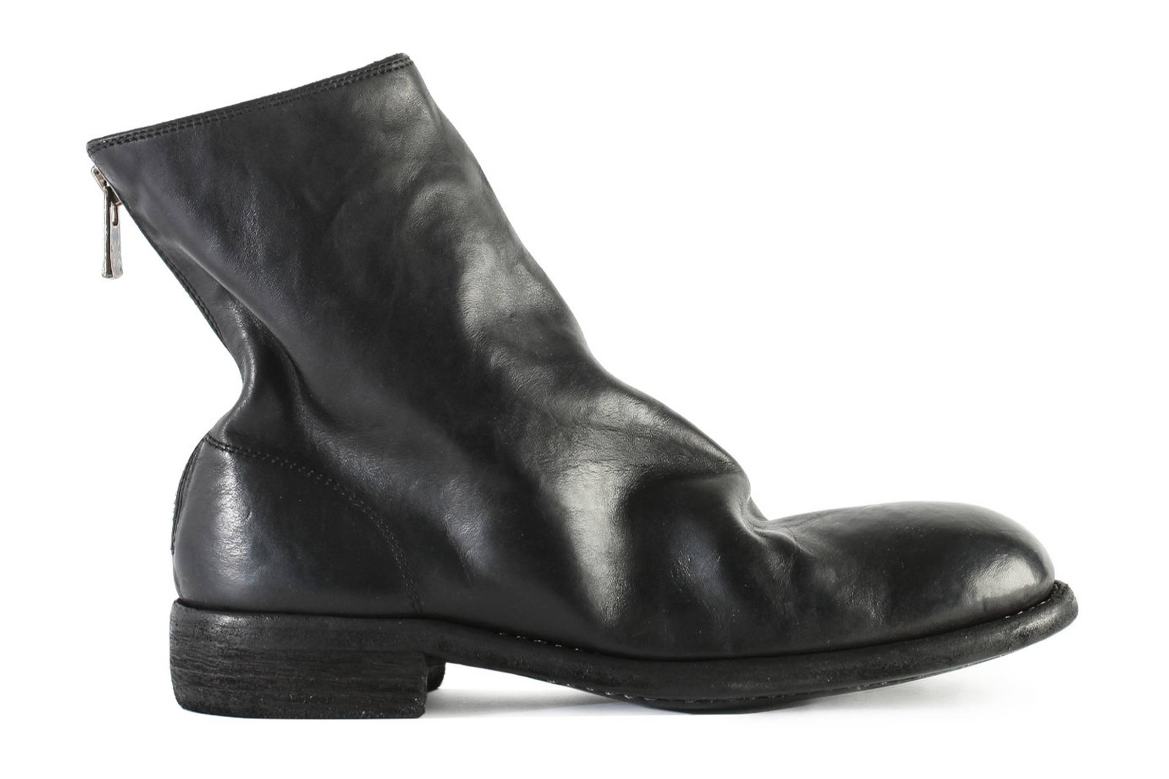 Guidi 986 Full Grain Horse Leather Back Zip Boots