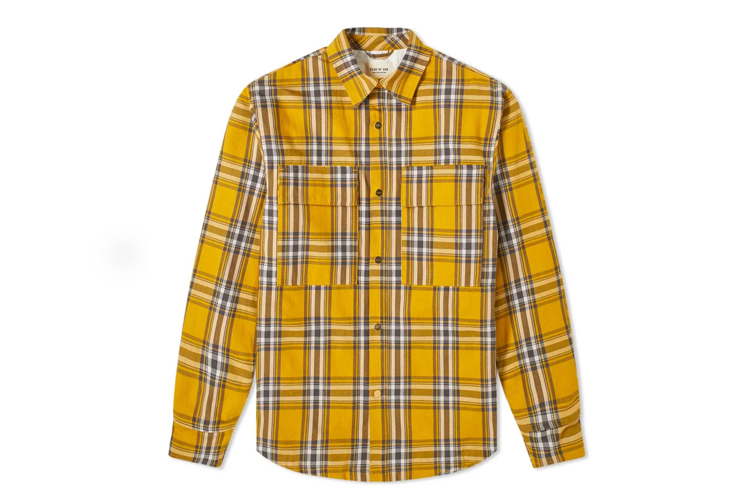 6. Fear of God Flannel Shirt Jacket