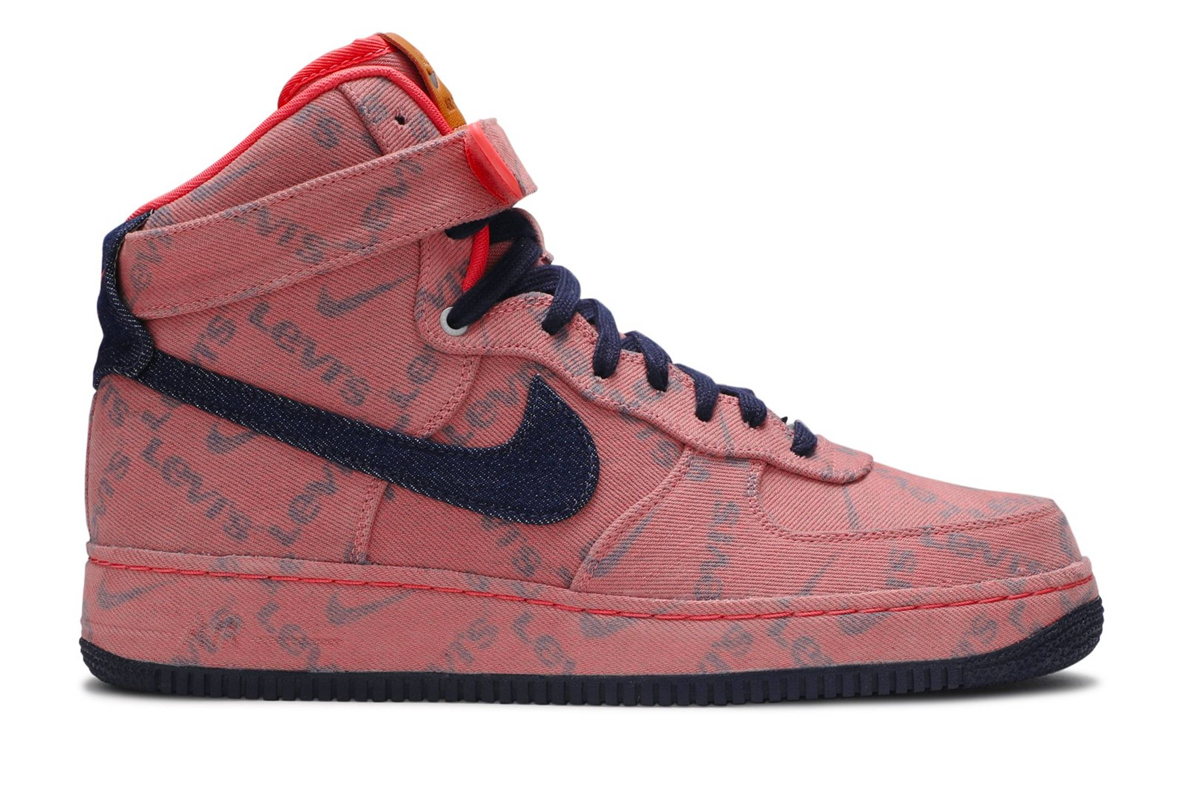 "Levi's x Nike Air Force 1 High ""Nike By You Exclusive Denim"""