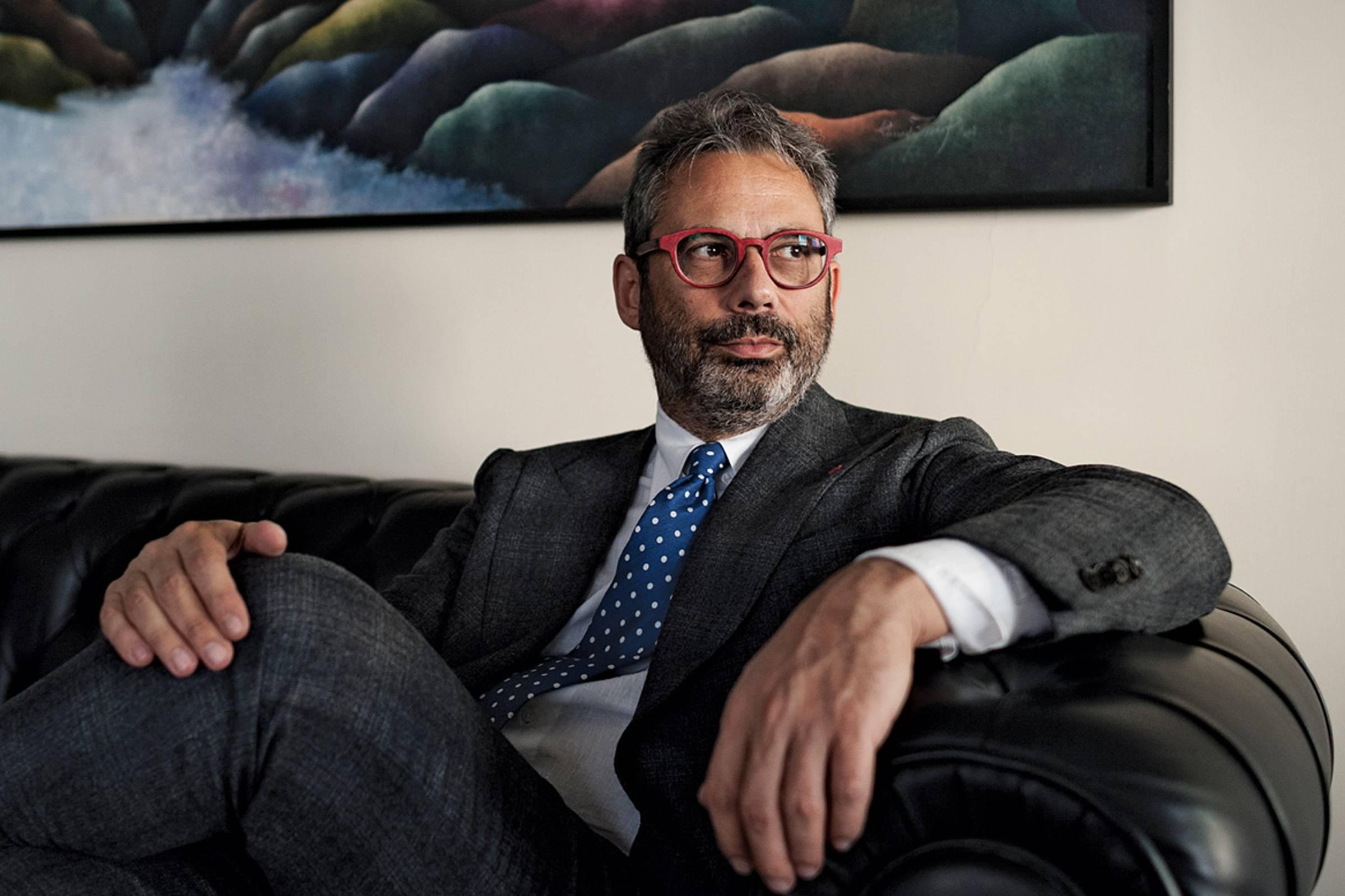 Isaia CEO Gianluca Isaia