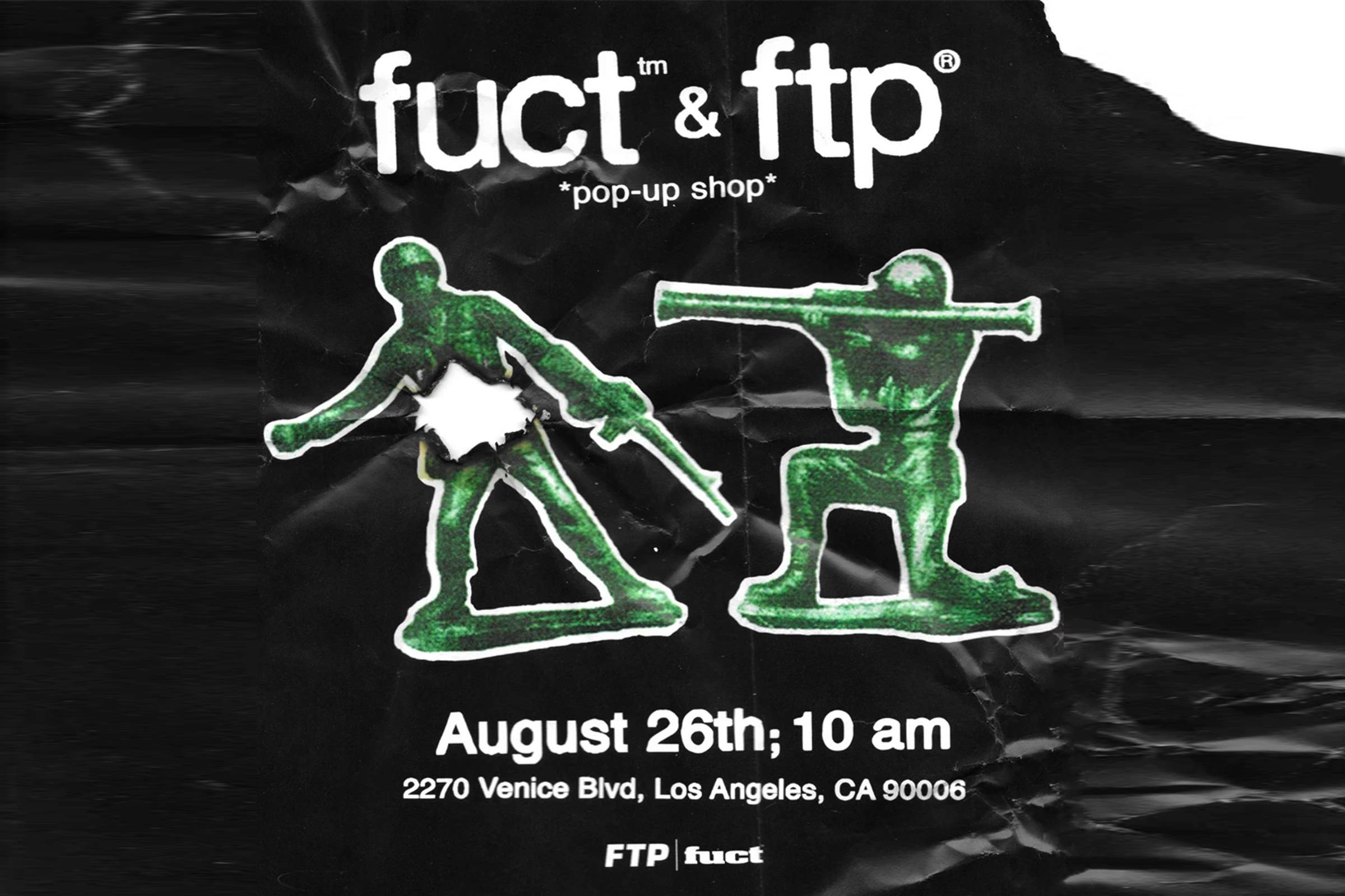 Post from a FTP x Fuct collaboration release event in 2017.