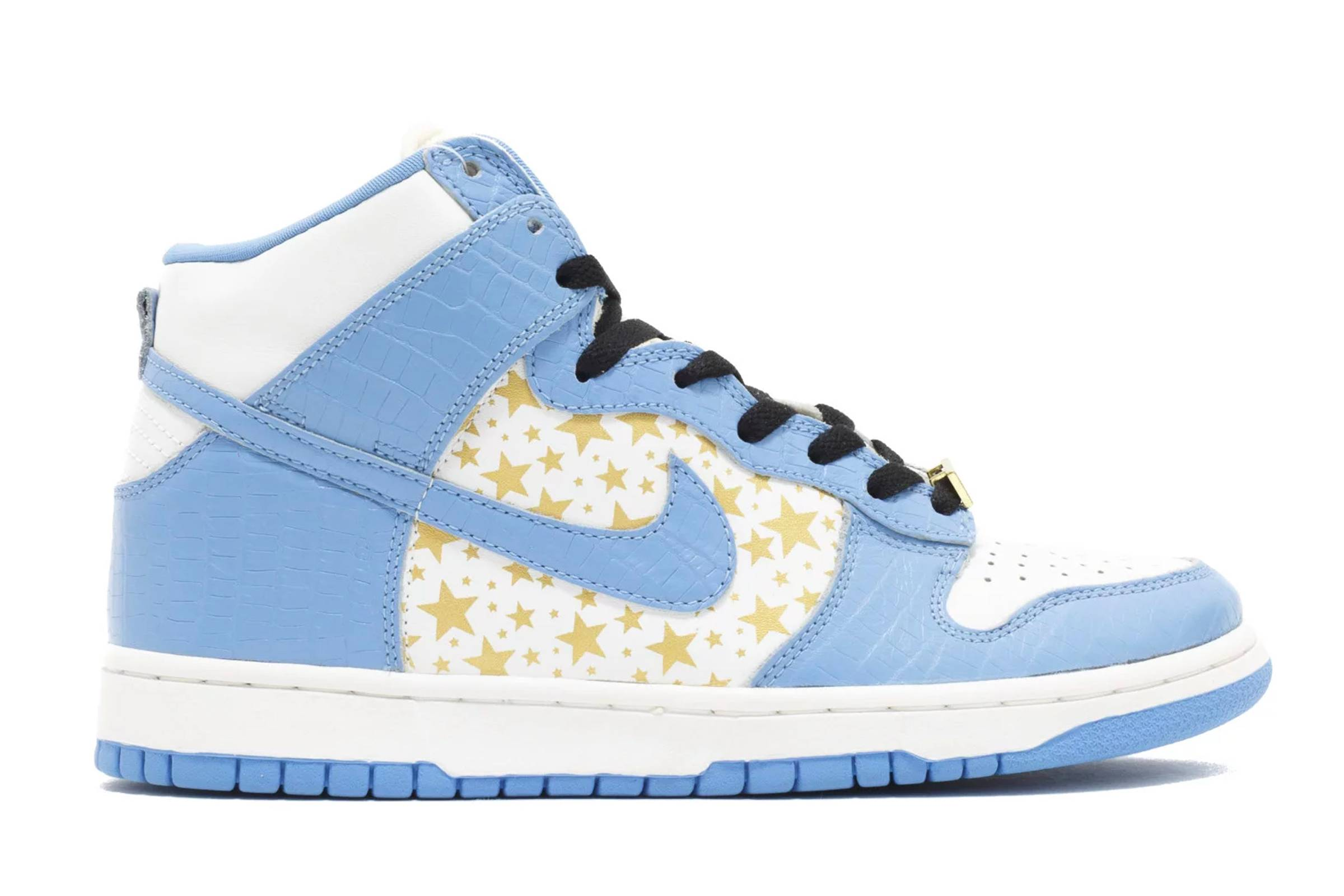 "Supreme x Nike SB Dunk High ""Blue"""