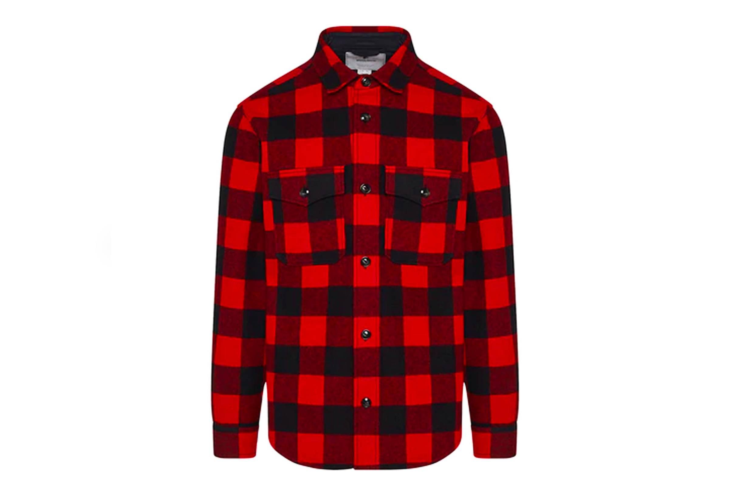 3. Woolrich Buffalo Check Over Shirt