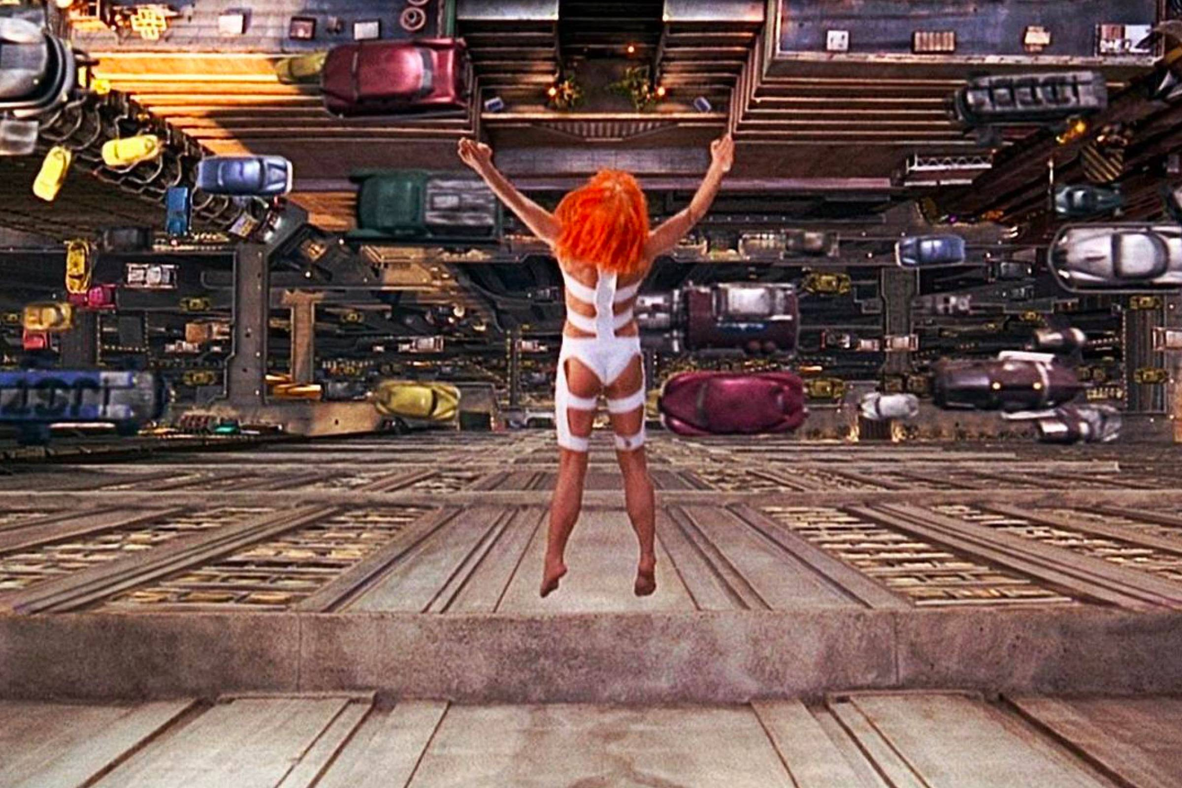 "The Sci-Fi Spectale of Jean-Paul Gaultier's Work in ""The Fifth Element"""