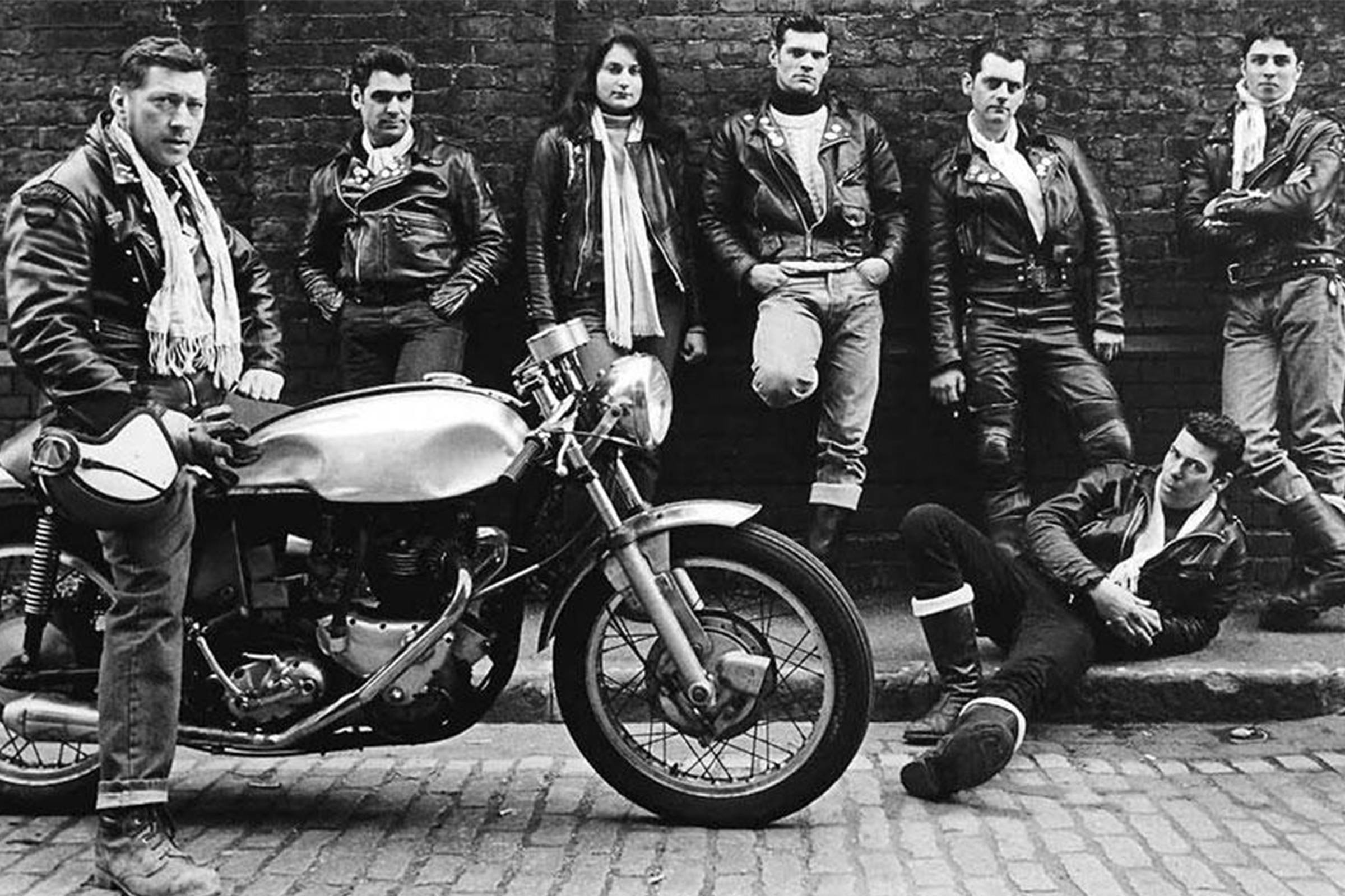Ton-Up Boys in Lewis Leathers