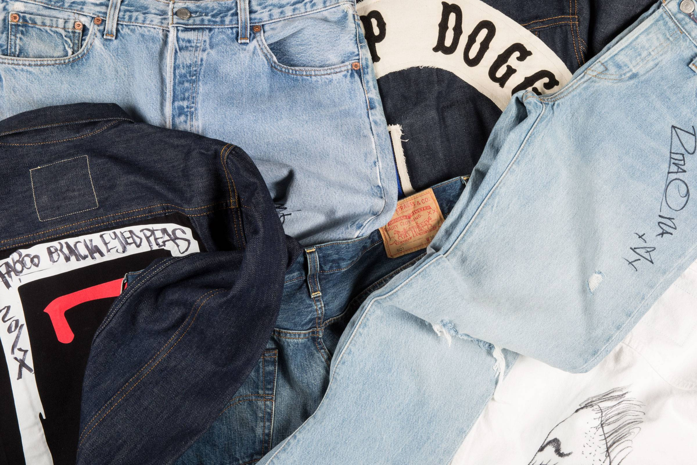 Grailed Presents: Levi's x Harmony Project Celebrity Denim Auction
