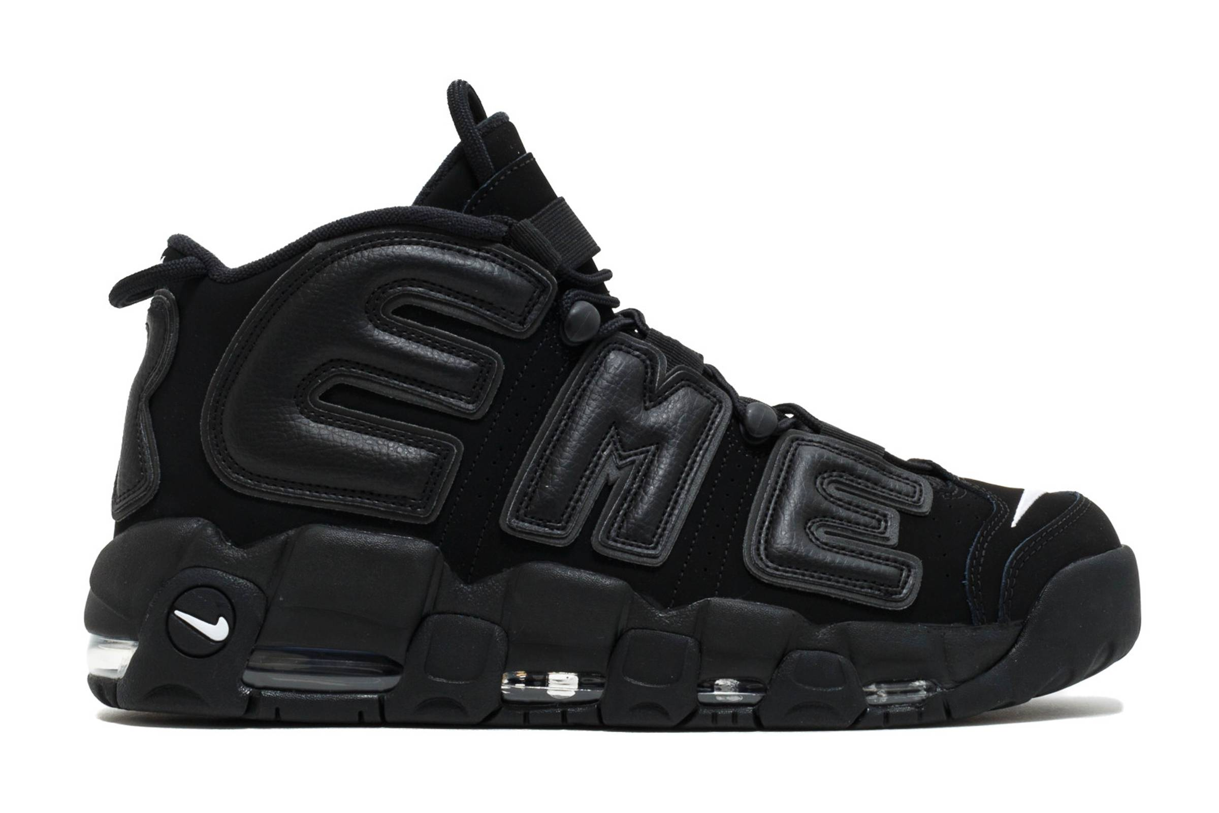 "Supreme x Nike Air More Uptempo ""Black"""