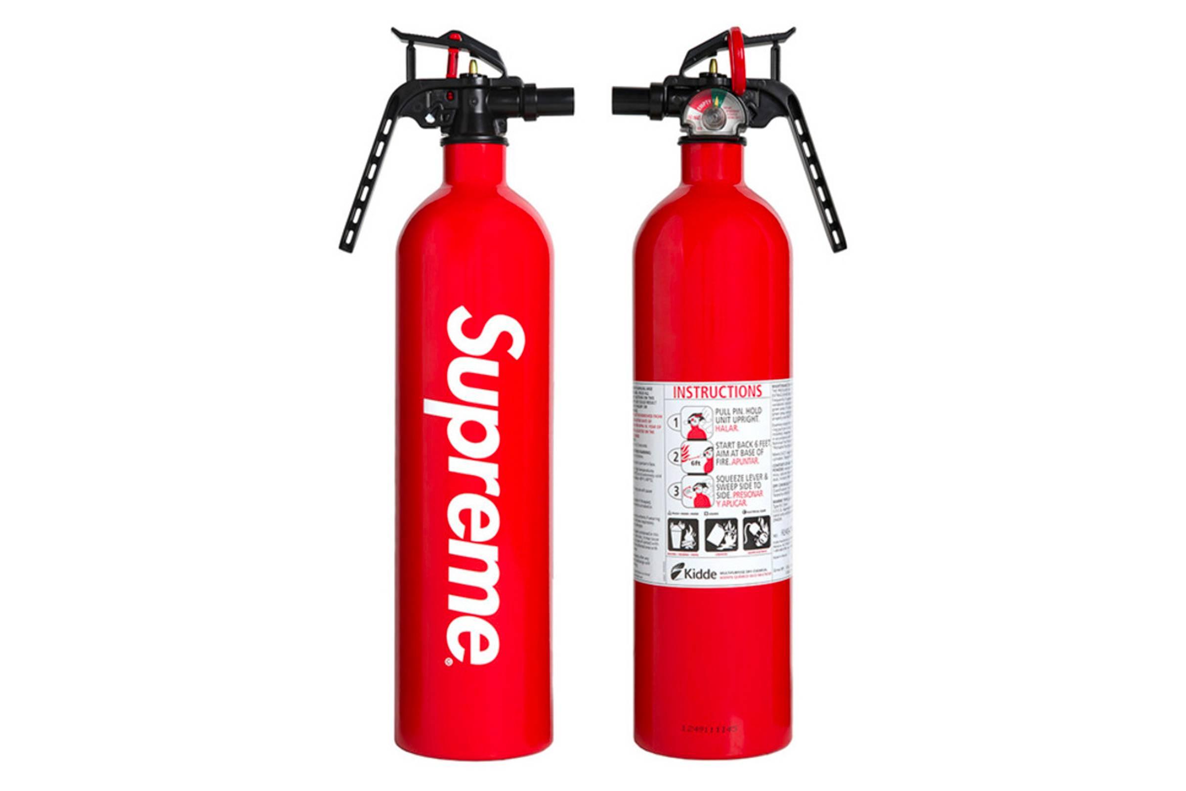 Supreme x Kidde Fire Extinguisher (Spring/Summer 2015)