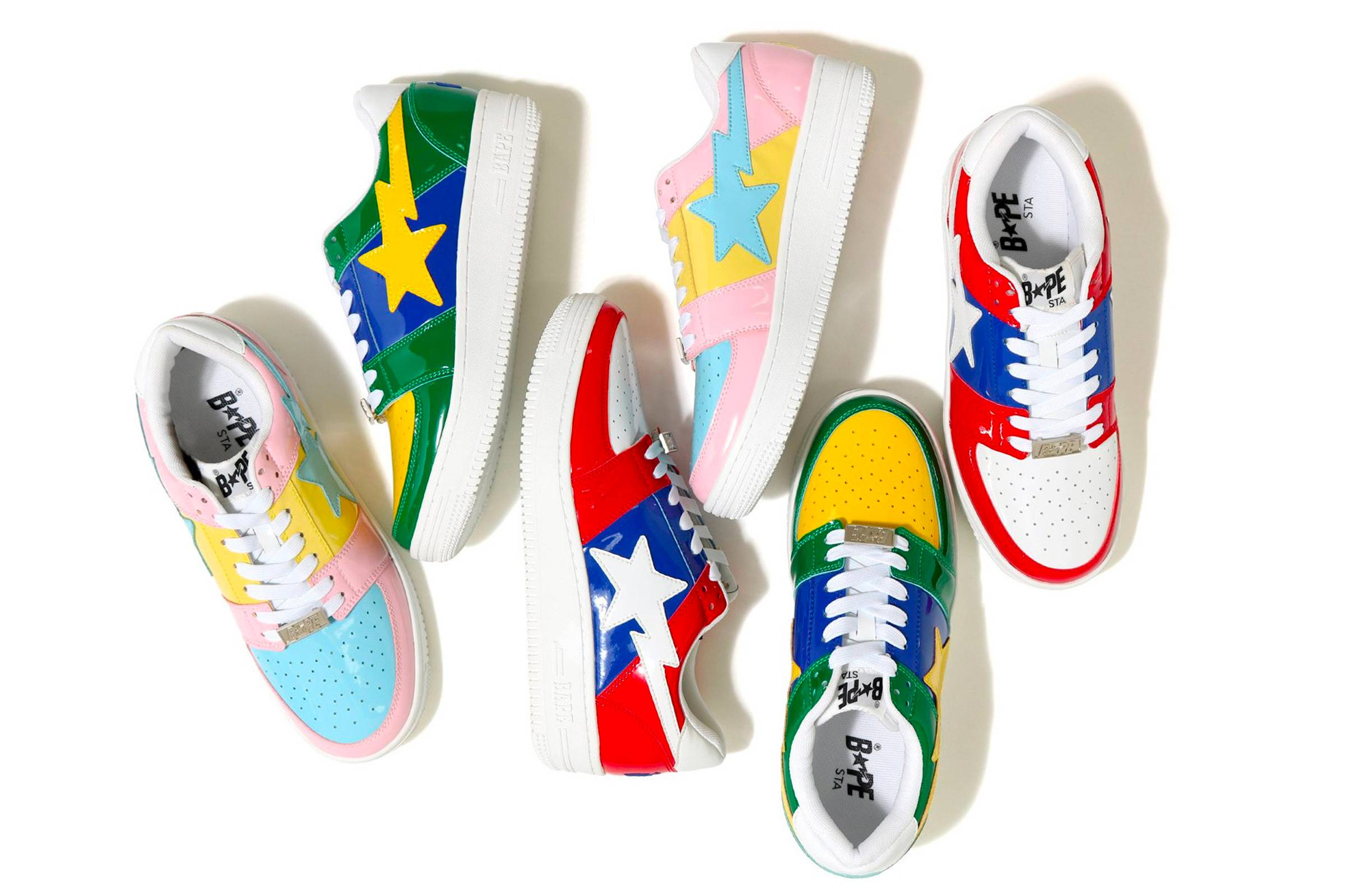 A Star is Born: The Best Bapesta Sneakers