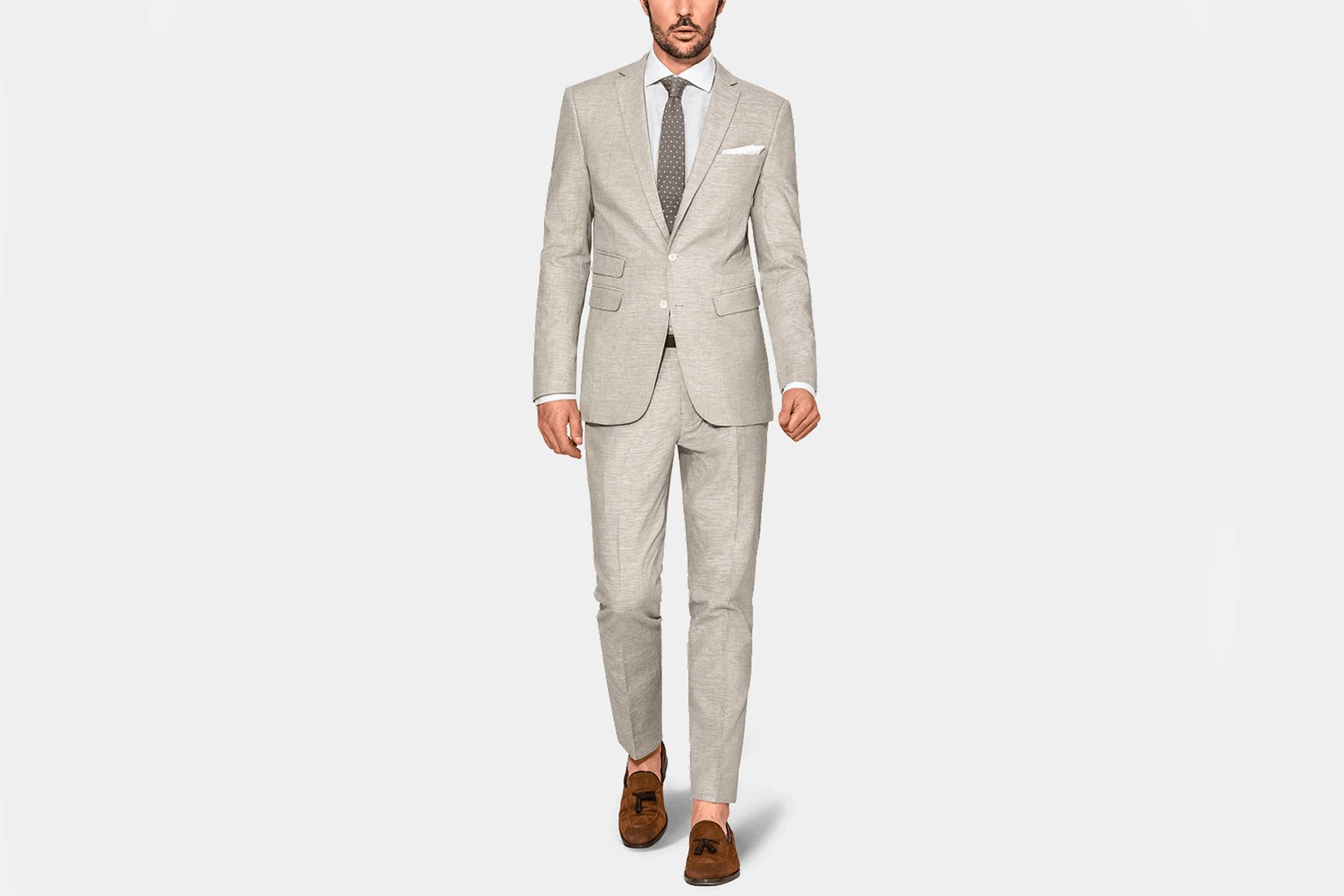 Types of Suits: Summer Suit, Linen or Linen/Silk/Cotton Blend