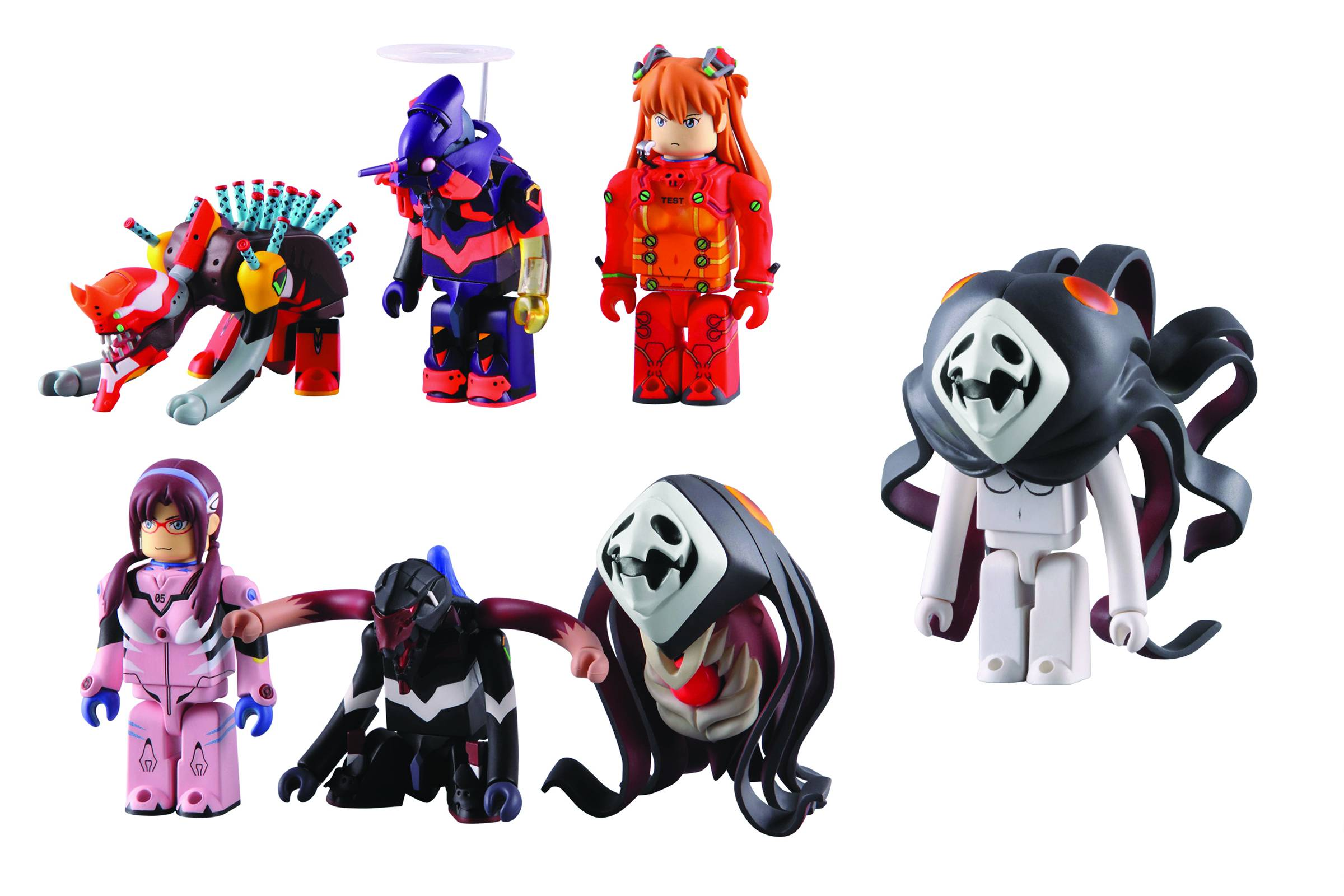 "MediCom Toy ""Neon Genesis Evangelion"" Re-Issue Pack"