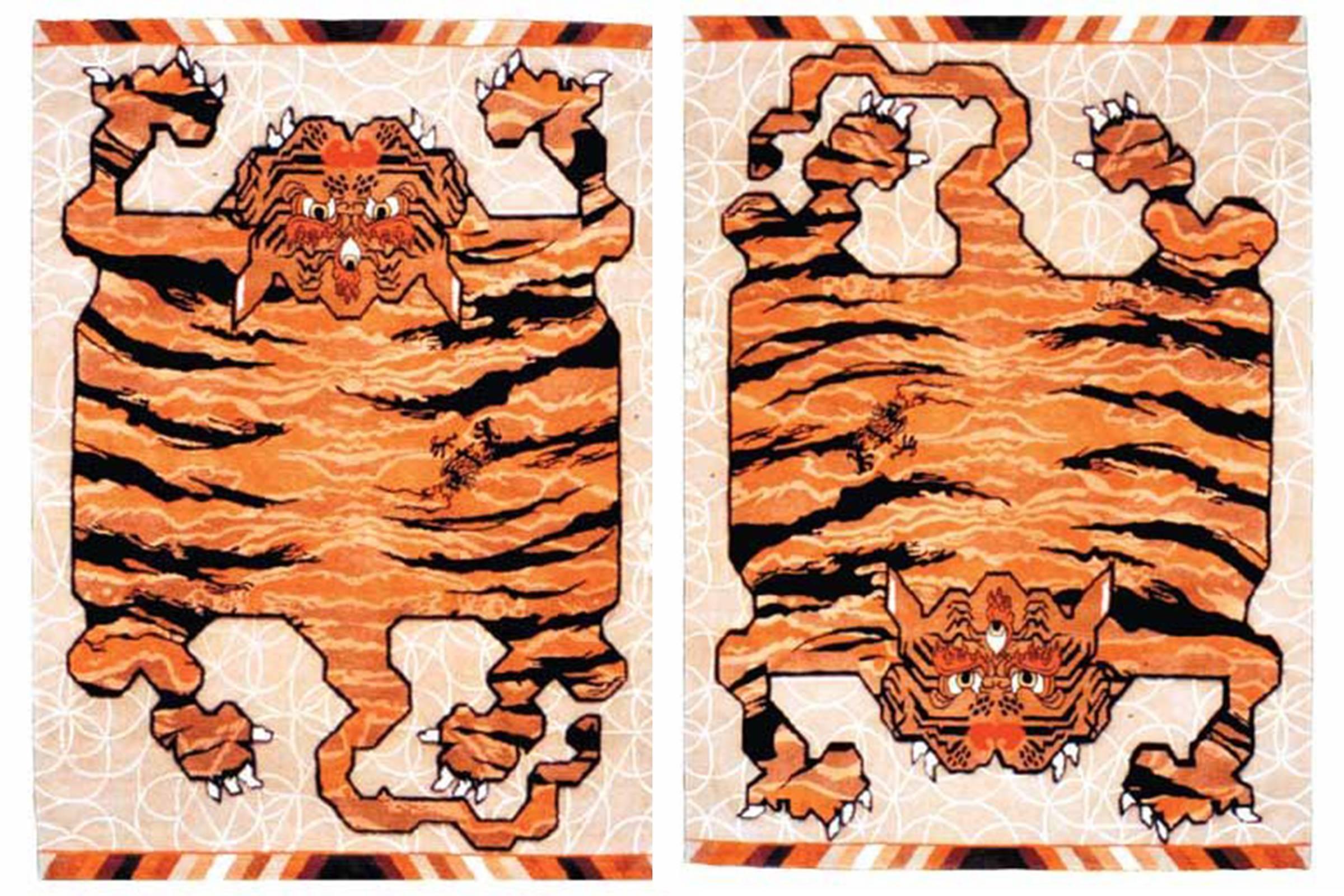 Maharishi Tibetan Tiger Rug