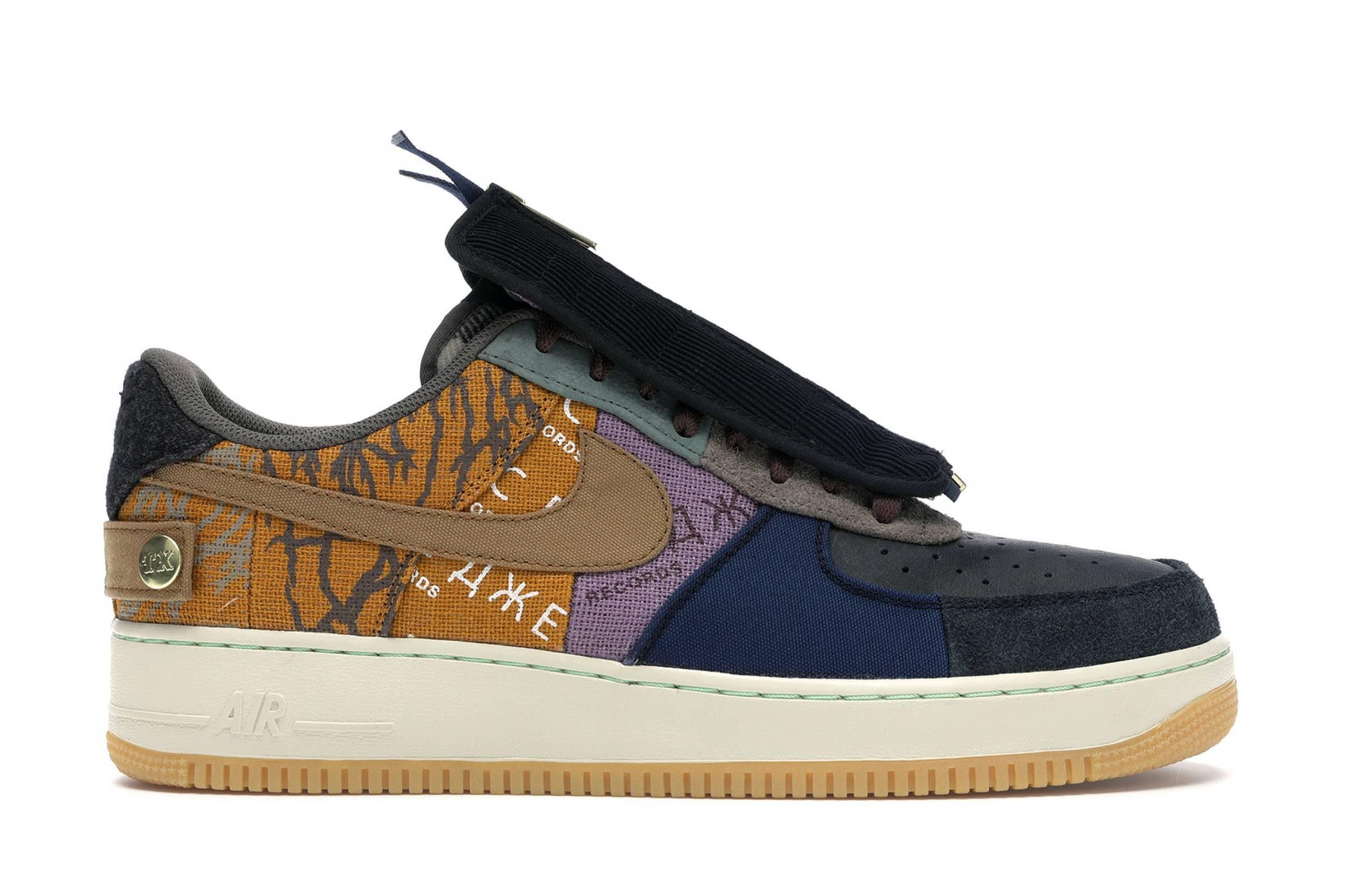 """Nike Air Force 1 Low """"Cactus Jack"""" (2019)"""