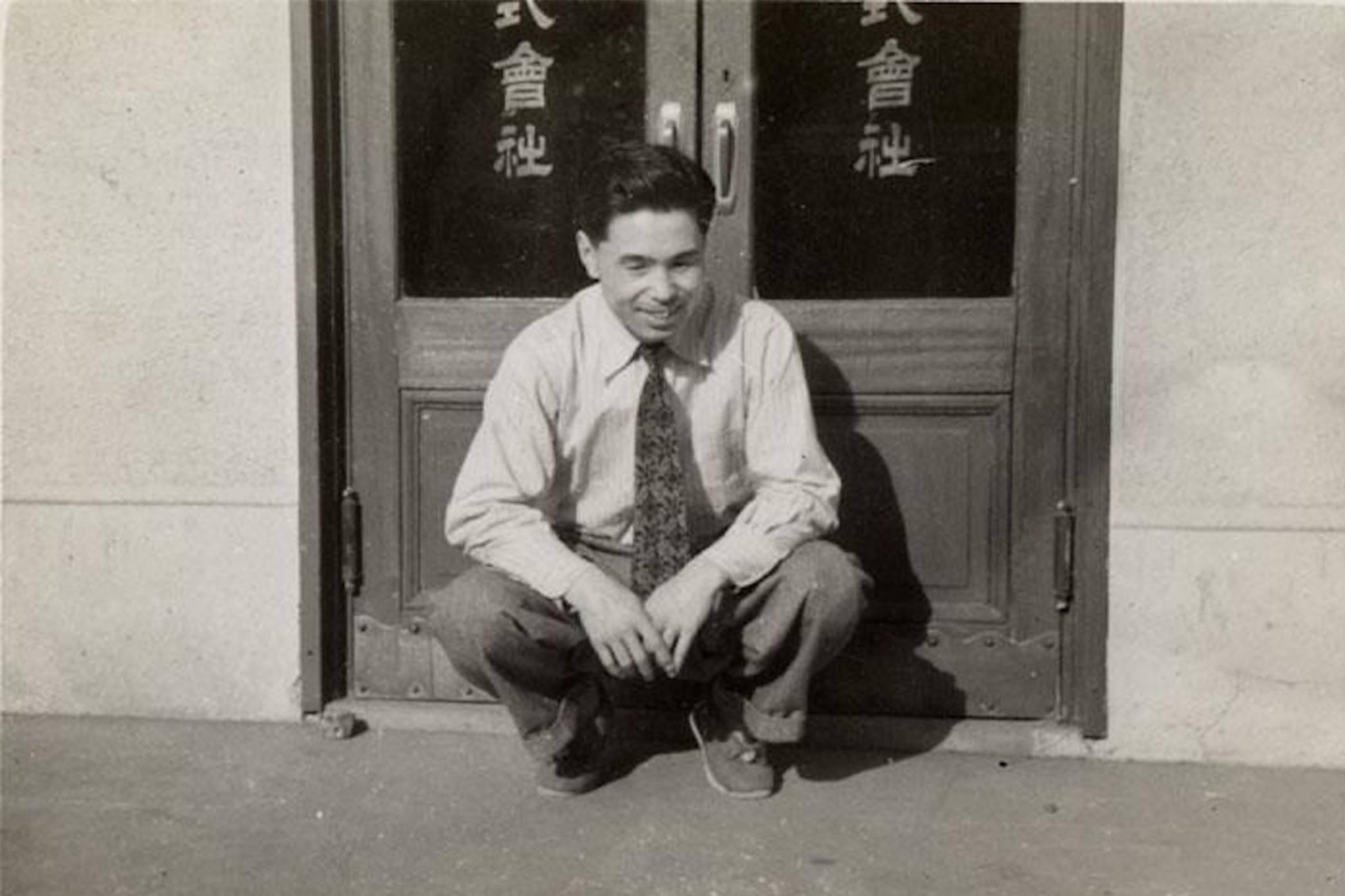 Asics founder Kihachiro Onitsuka (c. 1953)