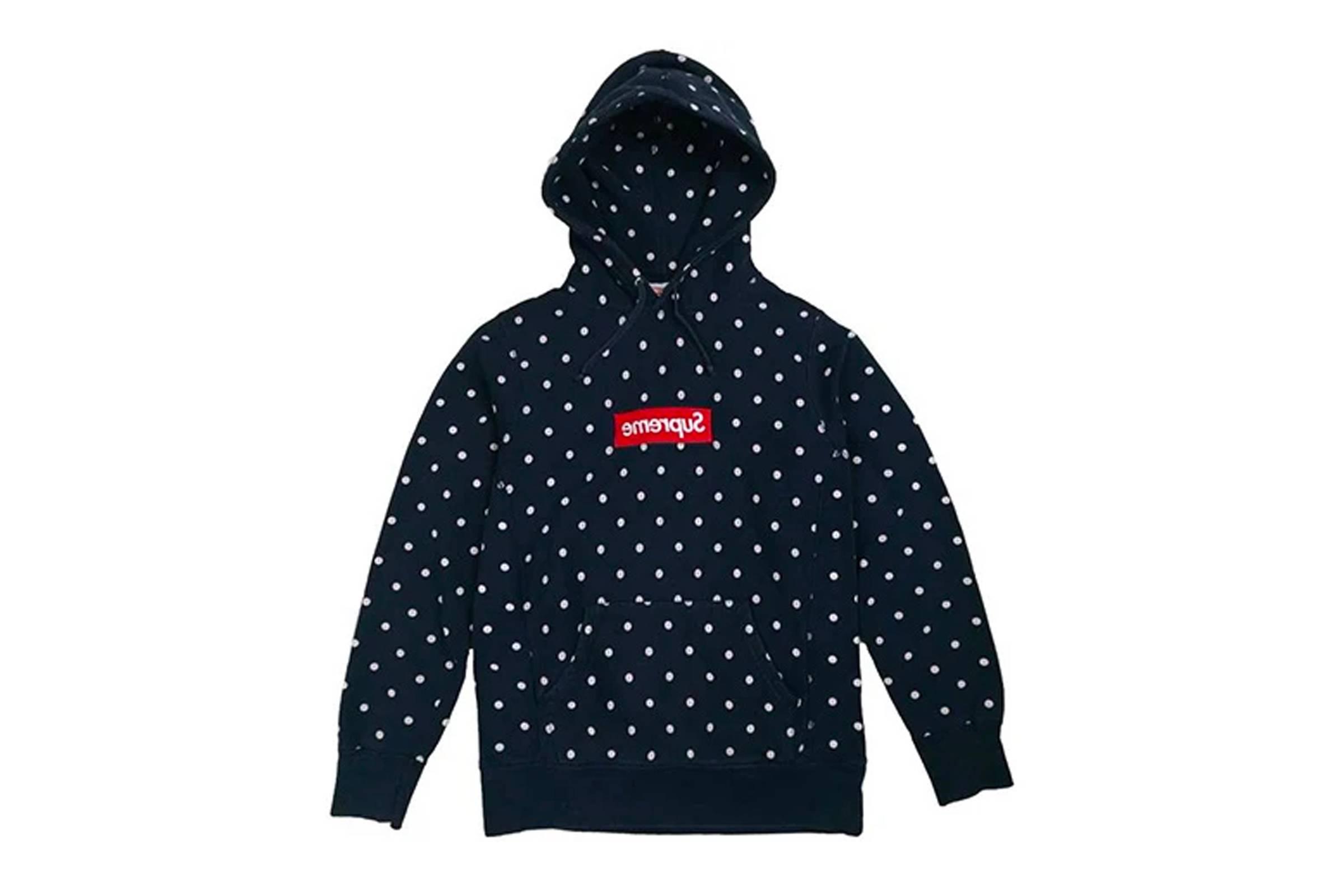 1. Comme des Garçons SHIRT x Supreme Polka Dot Box Logo Hoodie
