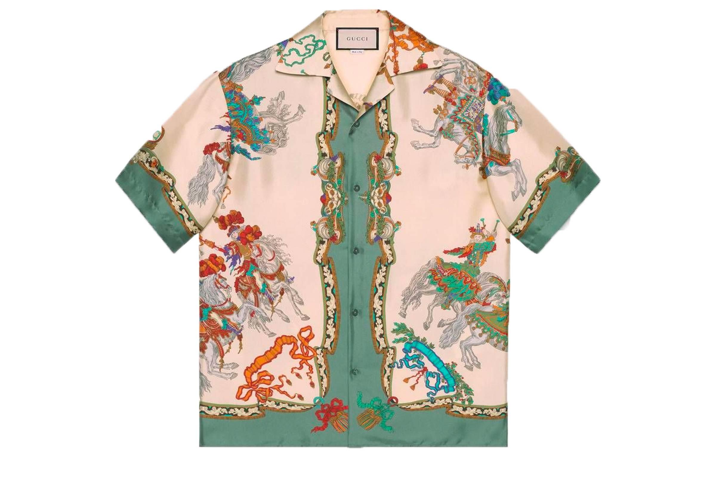 Gucci Silk Bowling Shirt