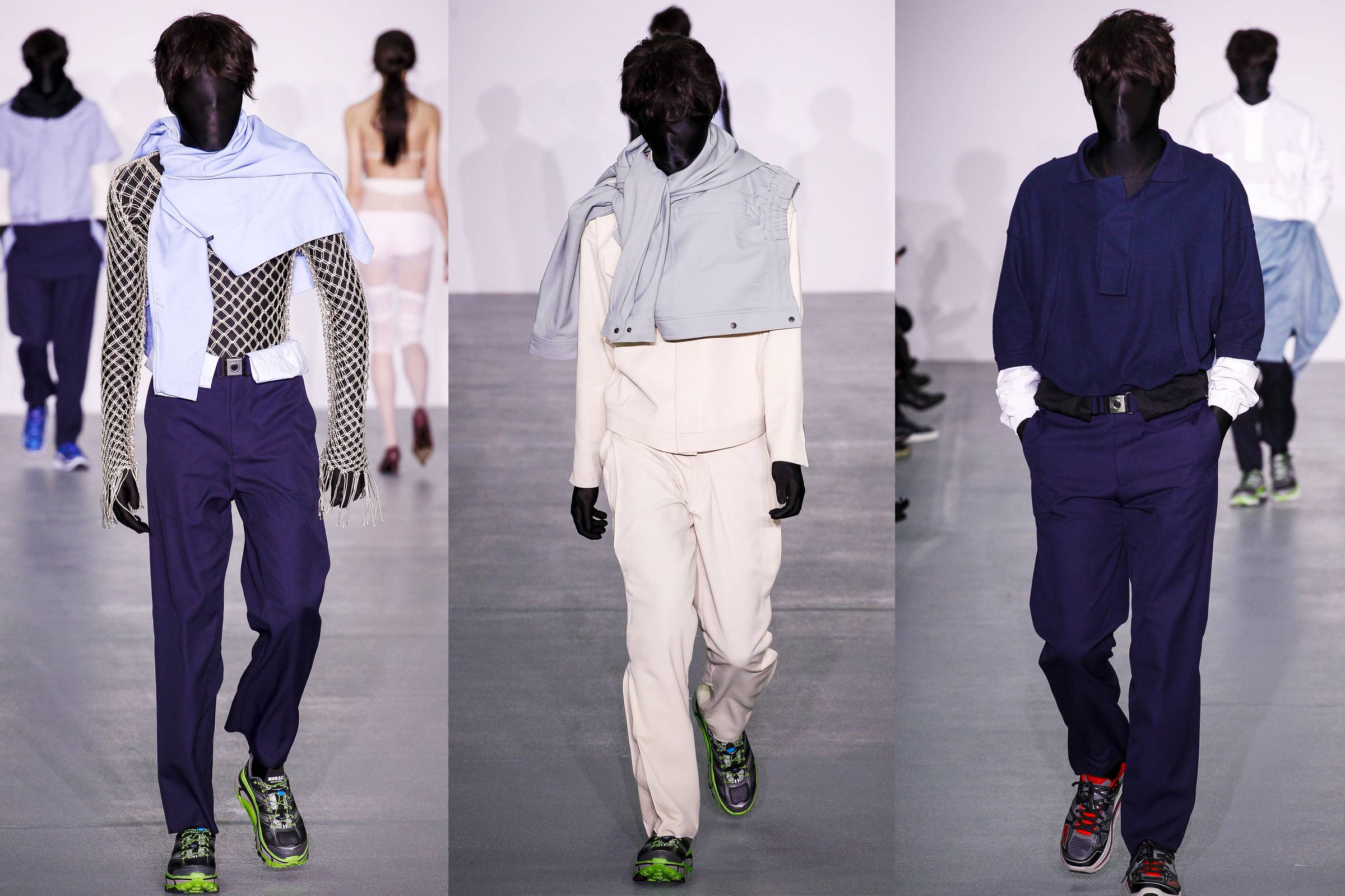 Kiko Kostadinov Fall/Winter 2016 Menswear (presented as part of CSM MA Graduate collections)